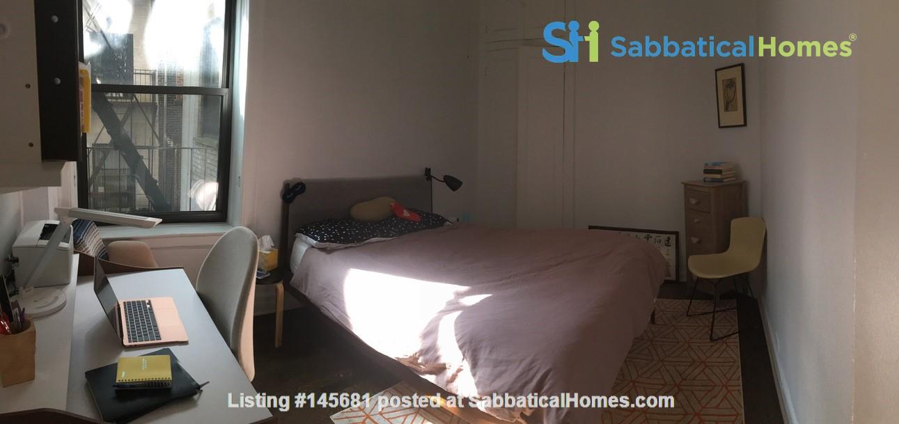 One bedroom sabbatical rental on UWS near Columbia Univ (09/21-06/22) Home Rental in New York, New York, United States 7