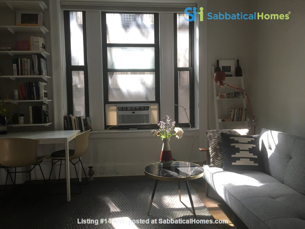 One bedroom sabbatical rental on UWS near Columbia Univ (09/21-06/22) Home Rental in New York, New York, United States 6