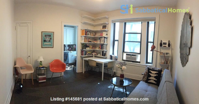 One bedroom sabbatical rental on UWS near Columbia Univ (09/21-06/22) Home Rental in New York, New York, United States 5