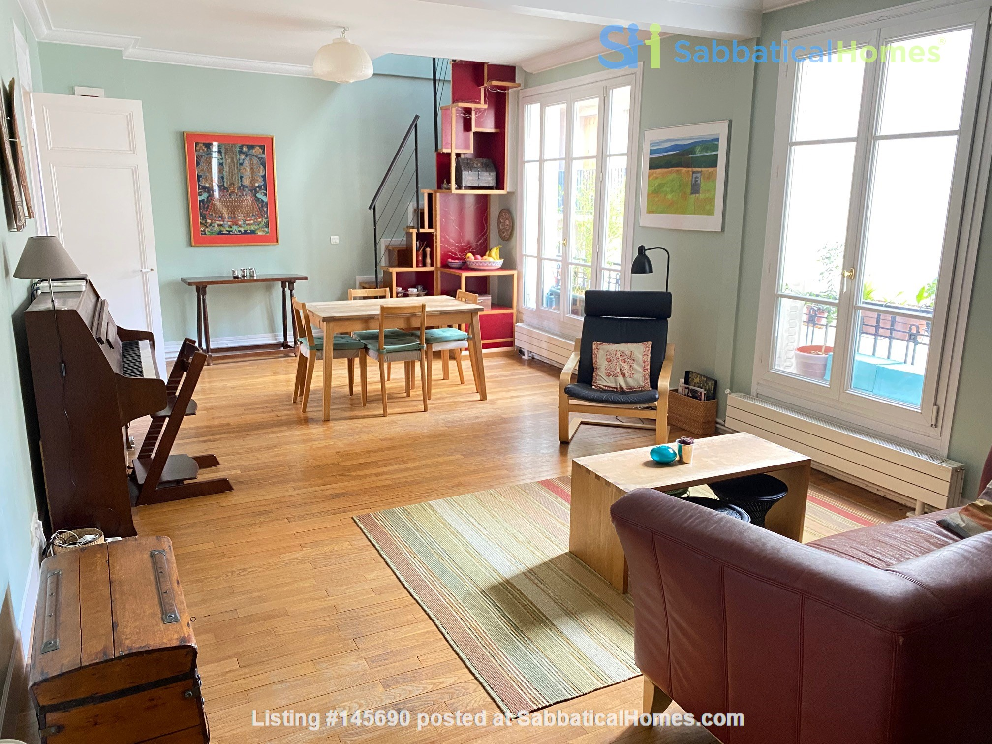 Live above the Catacombs: light-filled, top-floor apartment in Paris 14th Home Rental in Paris, Île-de-France, France 1