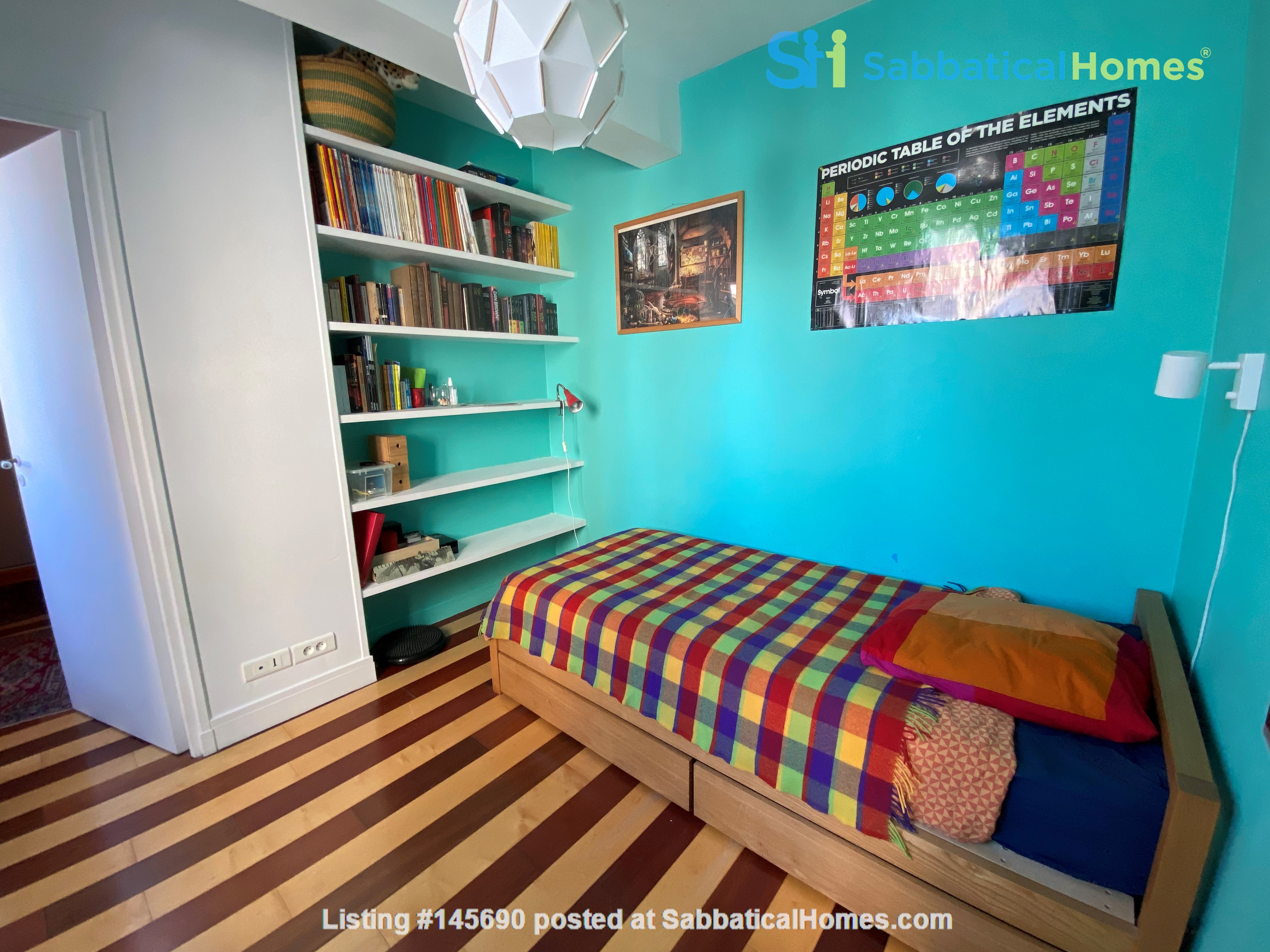 Live above the Catacombs: light-filled, top-floor apartment in Paris 14th Home Rental in Paris, Île-de-France, France 8