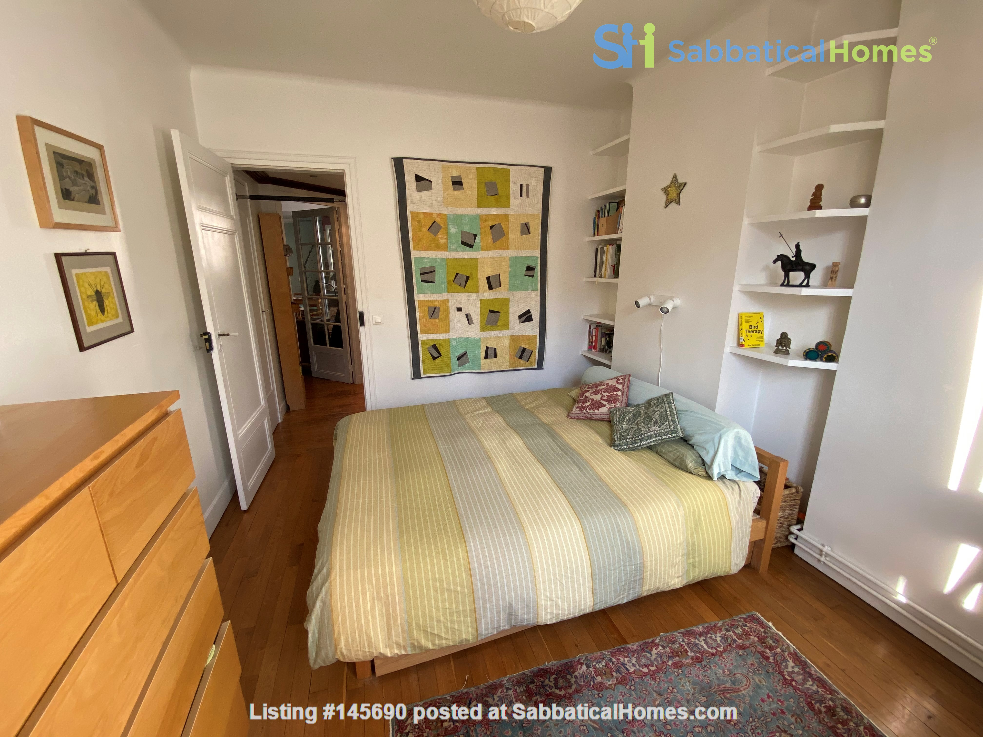 Live above the Catacombs: light-filled, top-floor apartment in Paris 14th Home Rental in Paris, Île-de-France, France 4
