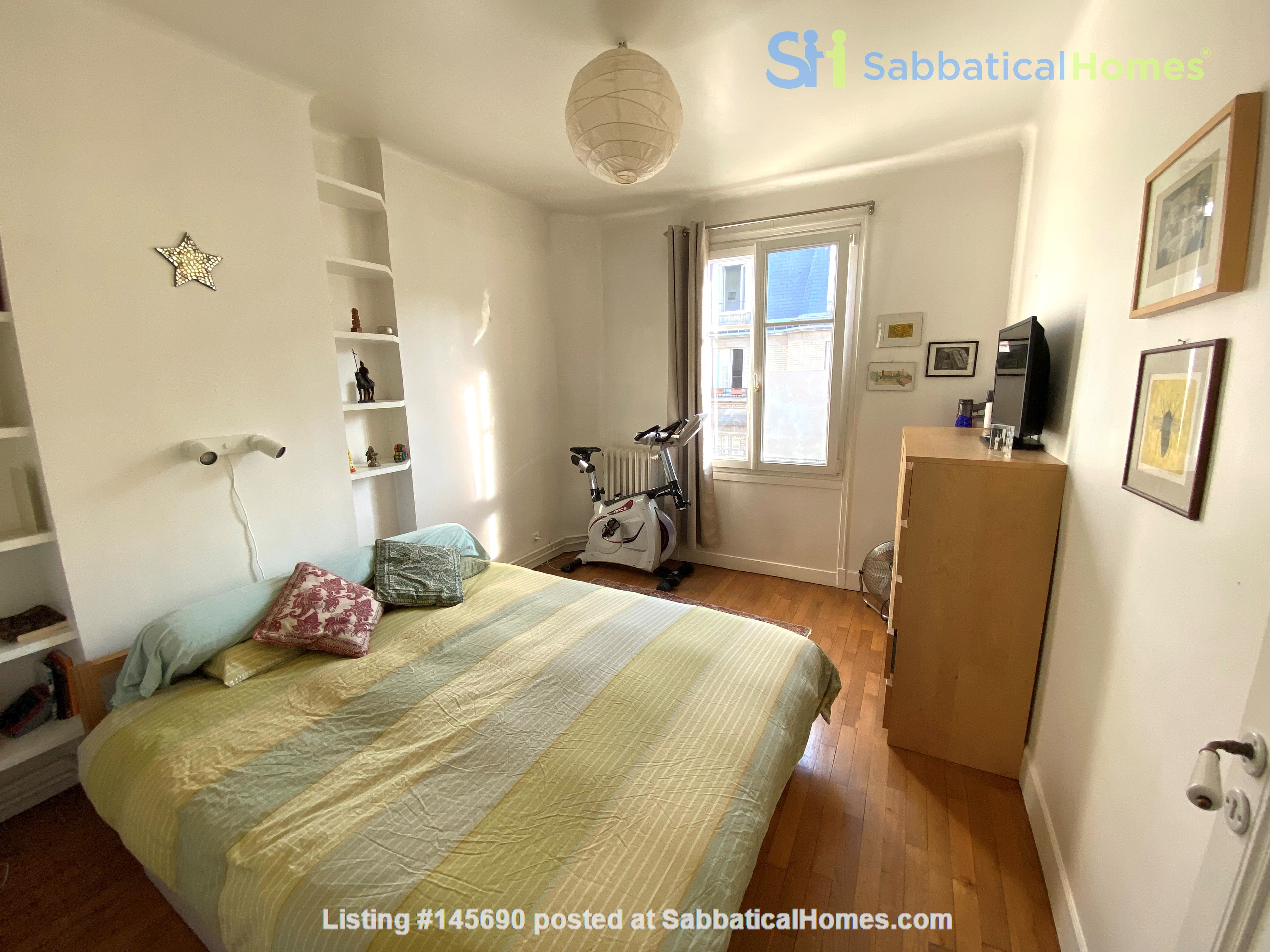 Live above the Catacombs: light-filled, top-floor apartment in Paris 14th Home Rental in Paris, Île-de-France, France 5