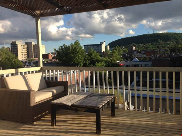 6 1/2 apartment with roof terrace in the heart of the Plateau Mont-Royal Home Rental in Montréal 0 - thumbnail