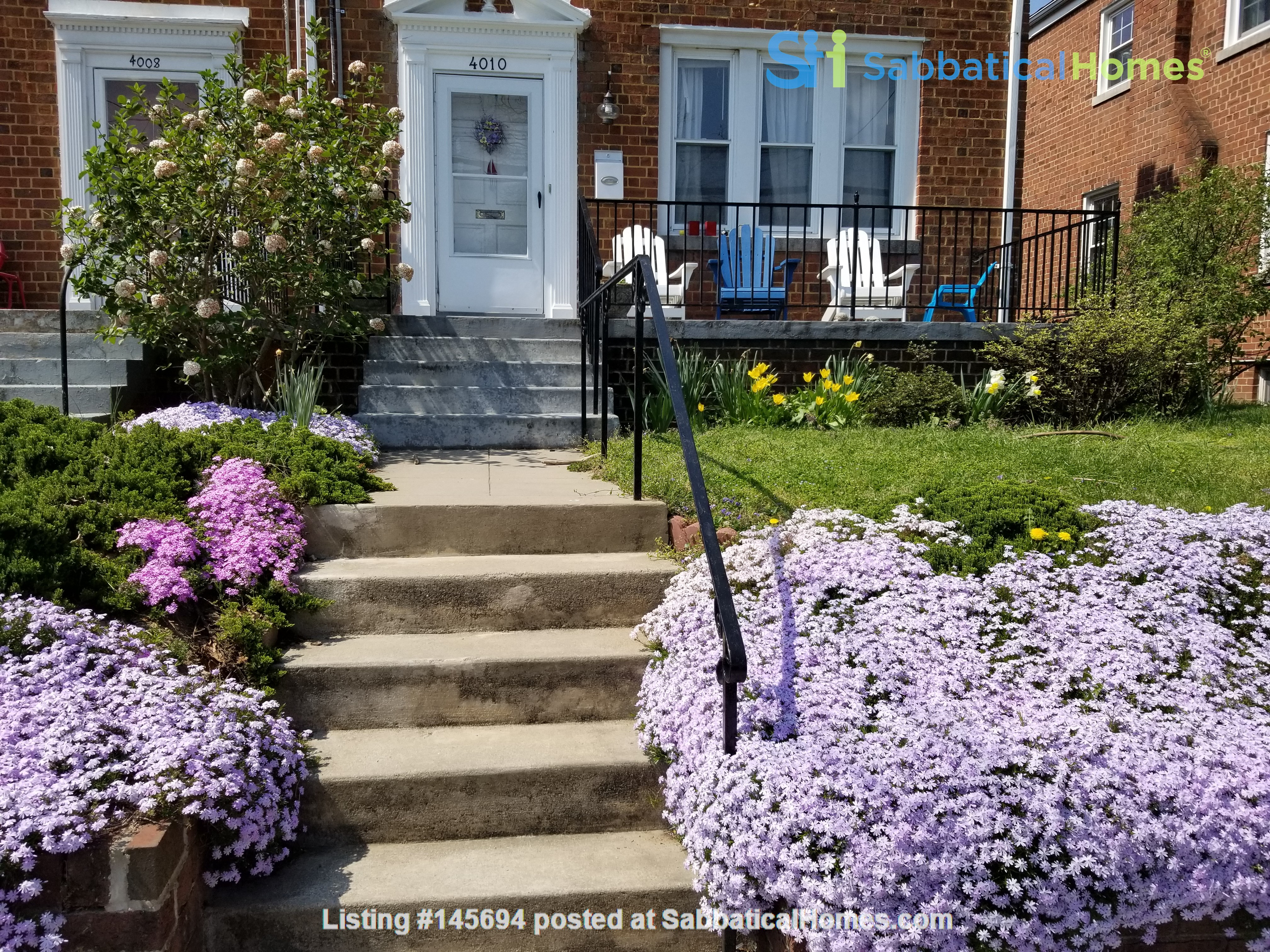 Great Family Home in DC for 2nd Semester Home Rental in Washington, District of Columbia, United States 0