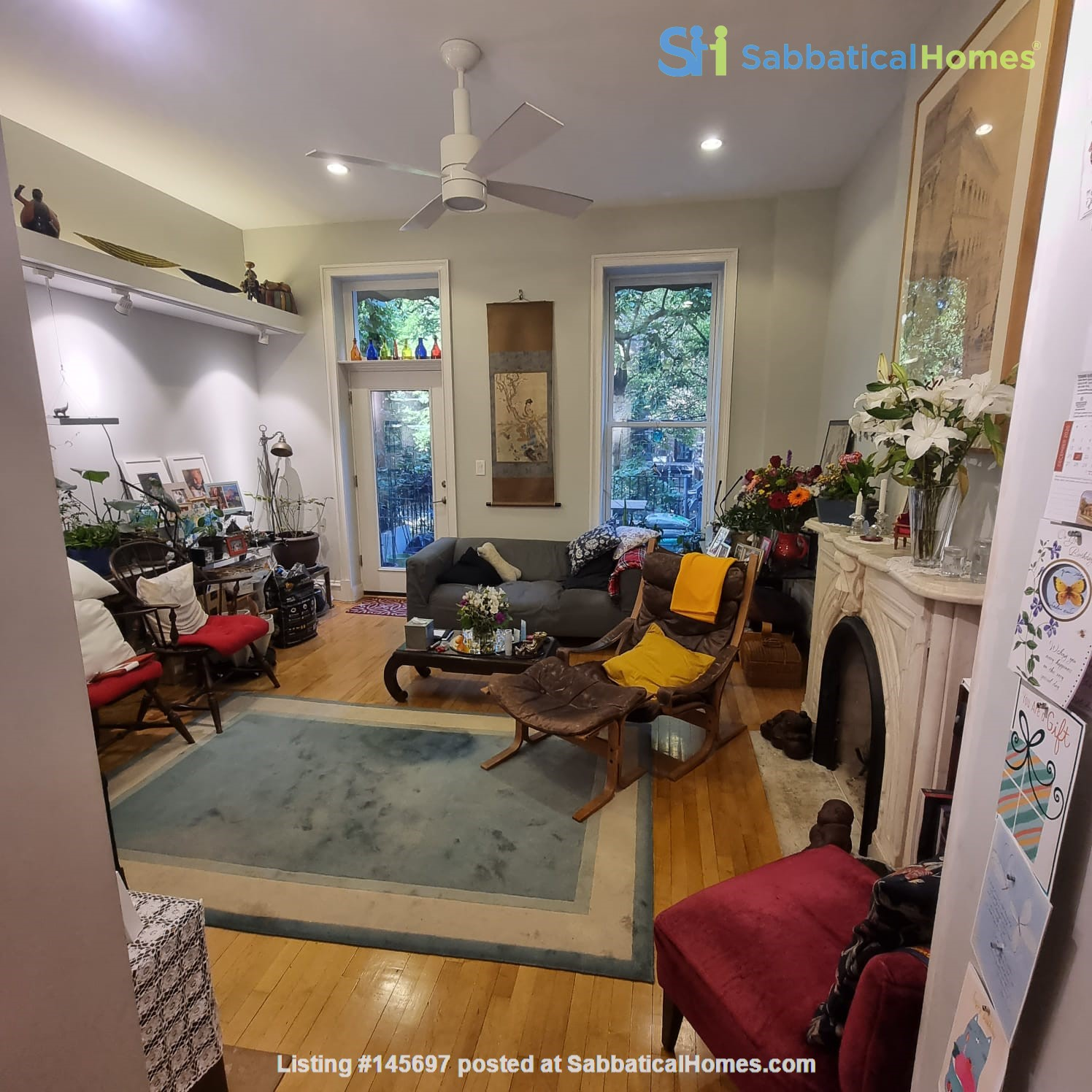 Recently renovated  casually comfortable brownstone Home Rental in Kings County, New York, United States 5