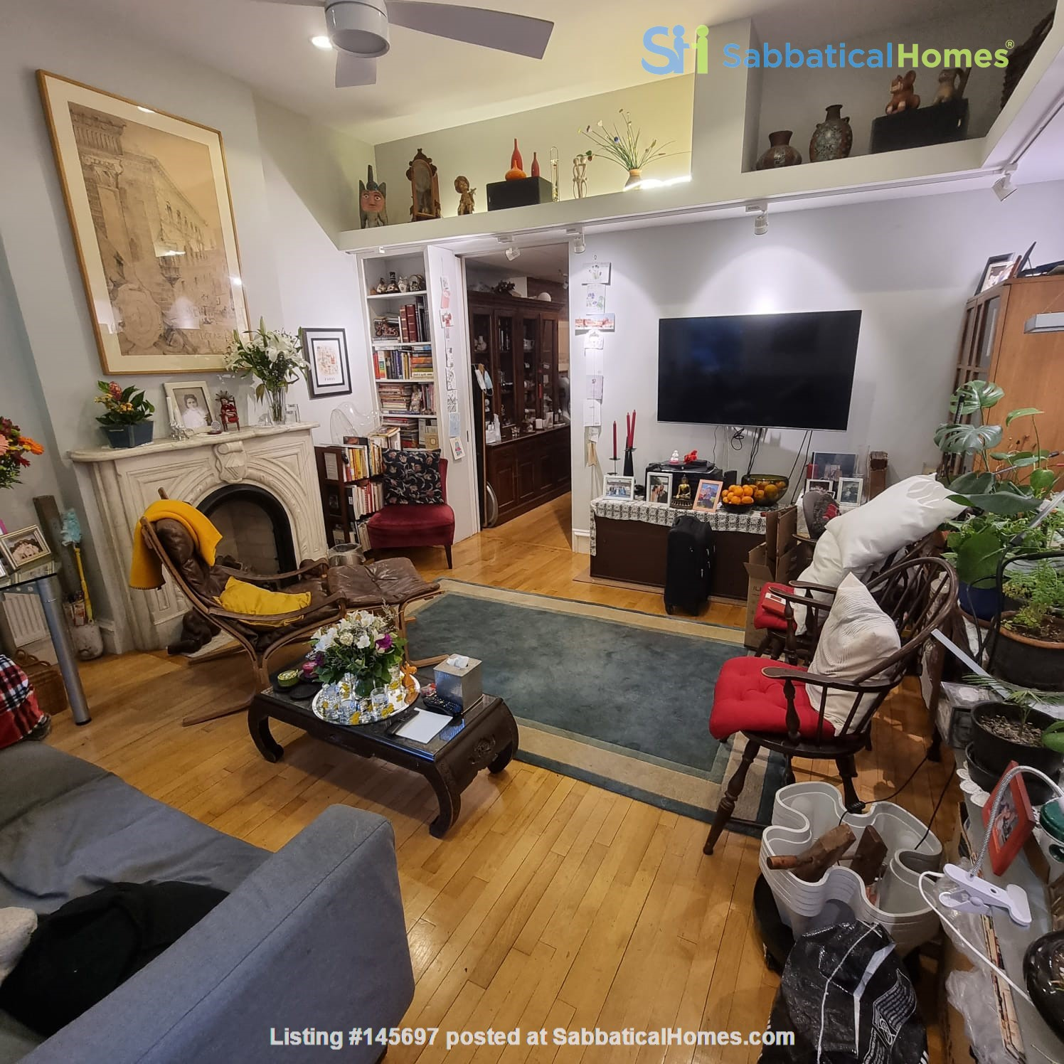 Recently renovated  casually comfortable brownstone Home Rental in Kings County, New York, United States 4