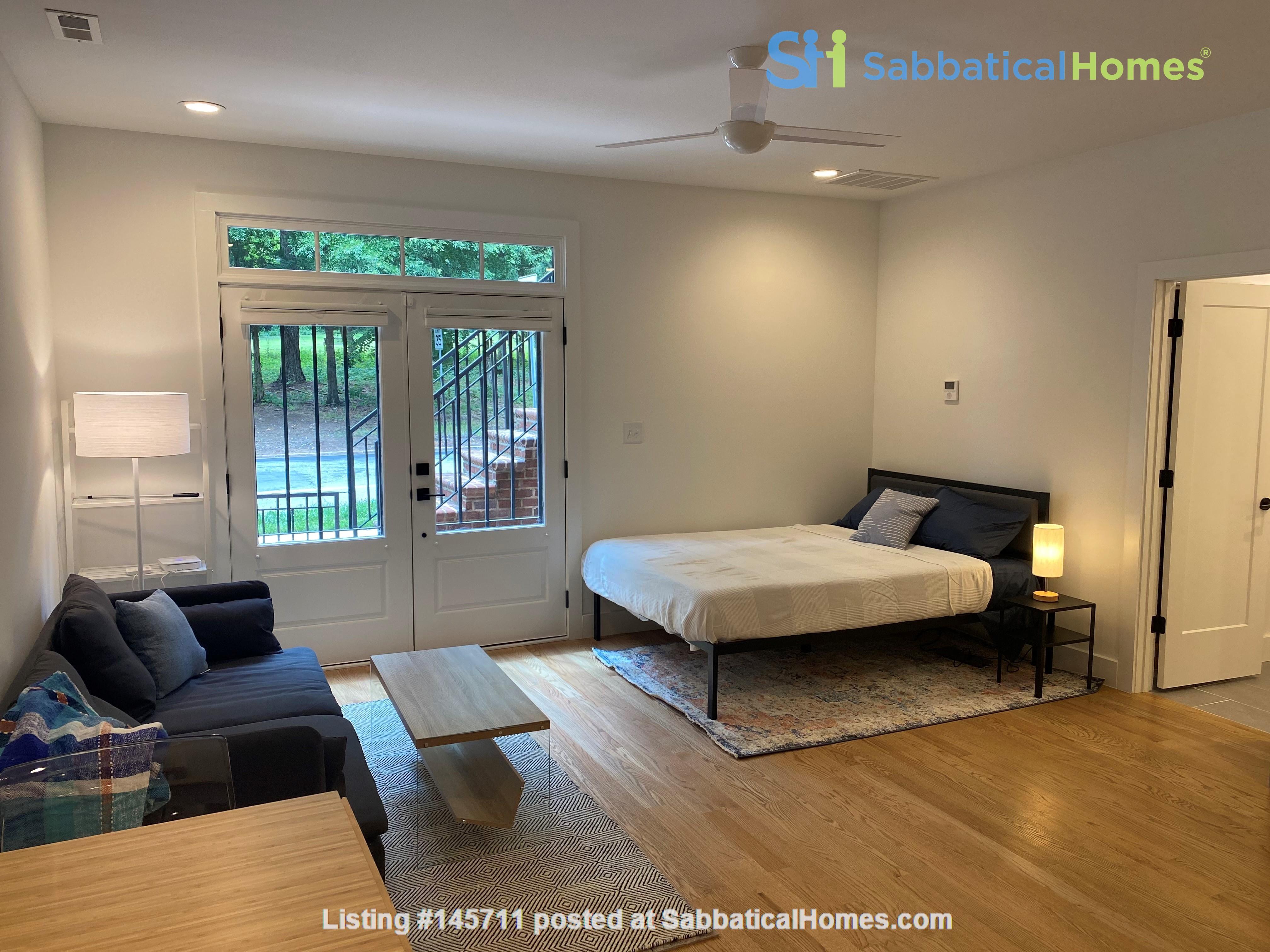 Furnished Brand New Studio Walkable to Duke and Downtown Durham Home Rental in Durham, North Carolina, United States 3