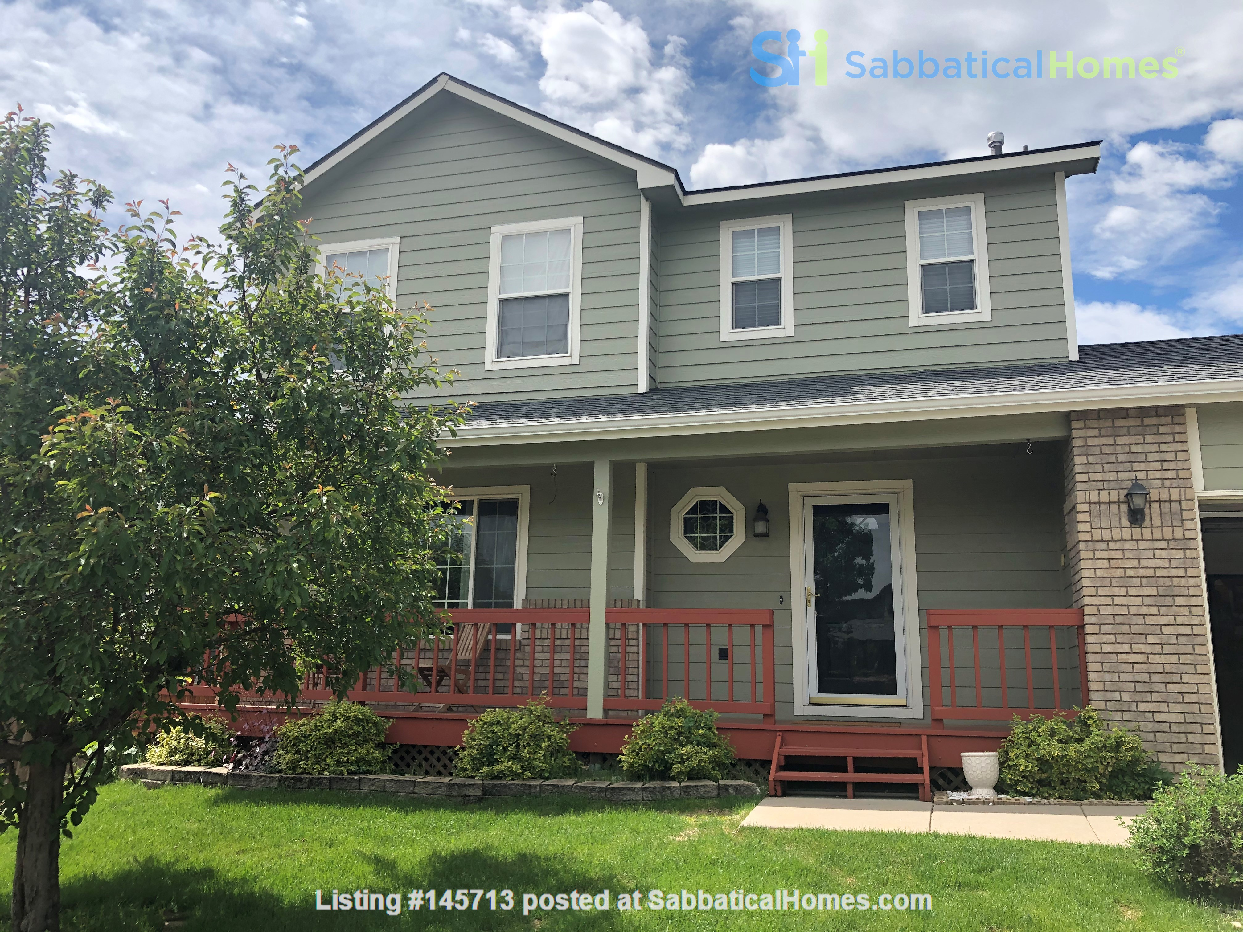 A Beautiful 2-Story House in Quiet Neighborhood, 5 Miles from CSU Campus Home Rental in Fort Collins, Colorado, United States 0
