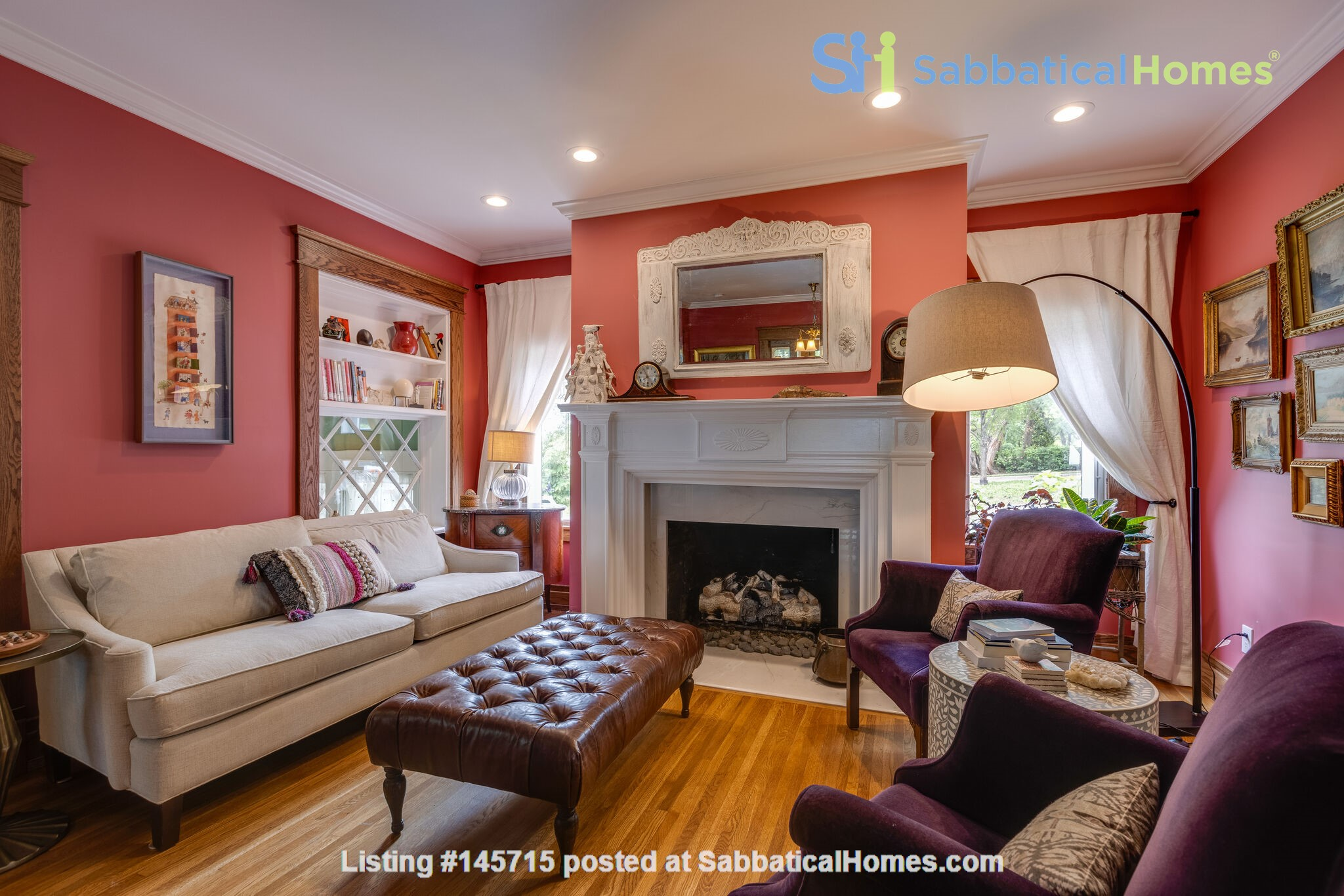 5 BR/3 + 2 BA Historic gem in Belmont-Hillsboro Home Rental in Nashville 3