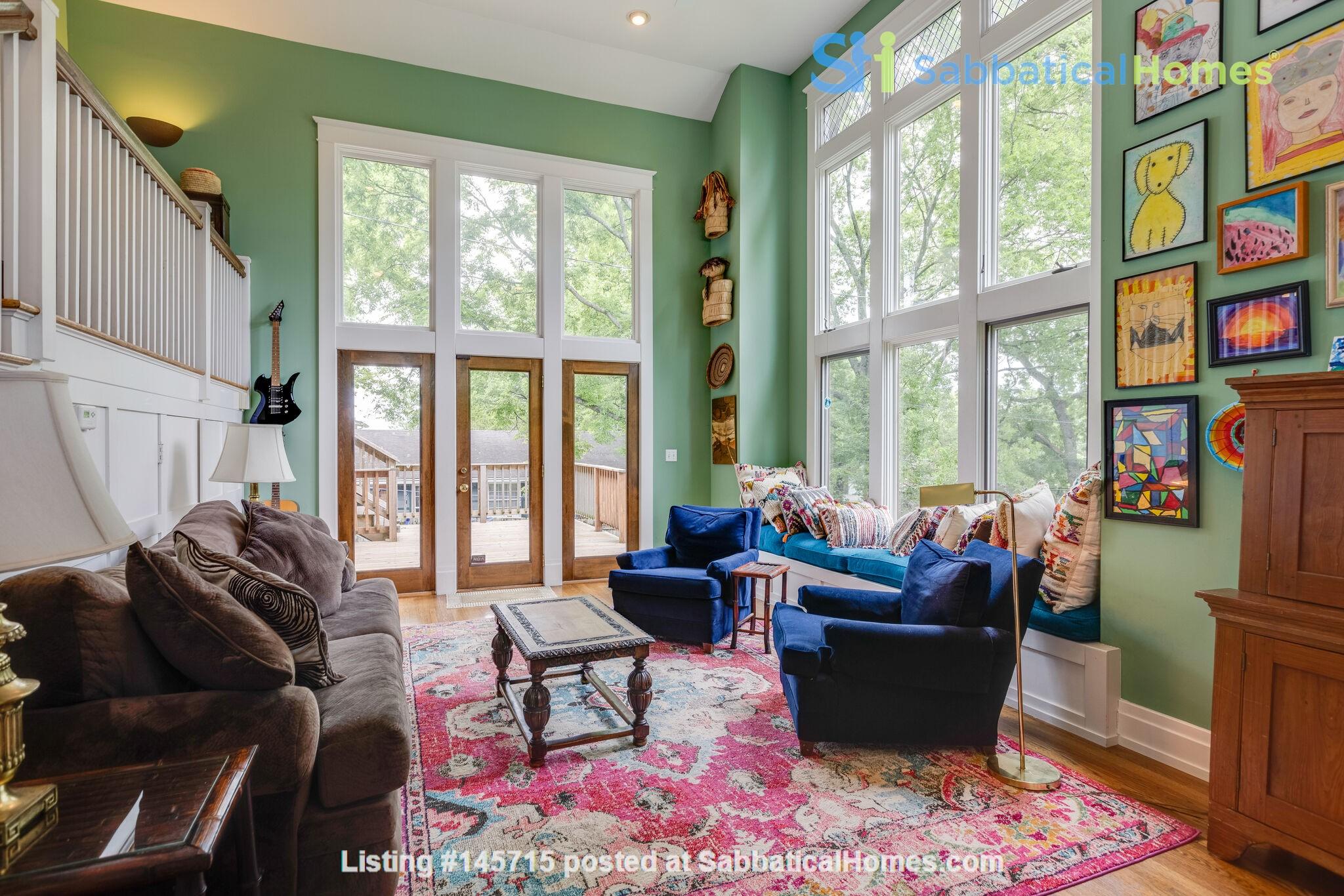 5 BR/3 + 2 BA Historic gem in Belmont-Hillsboro Home Rental in Nashville 6