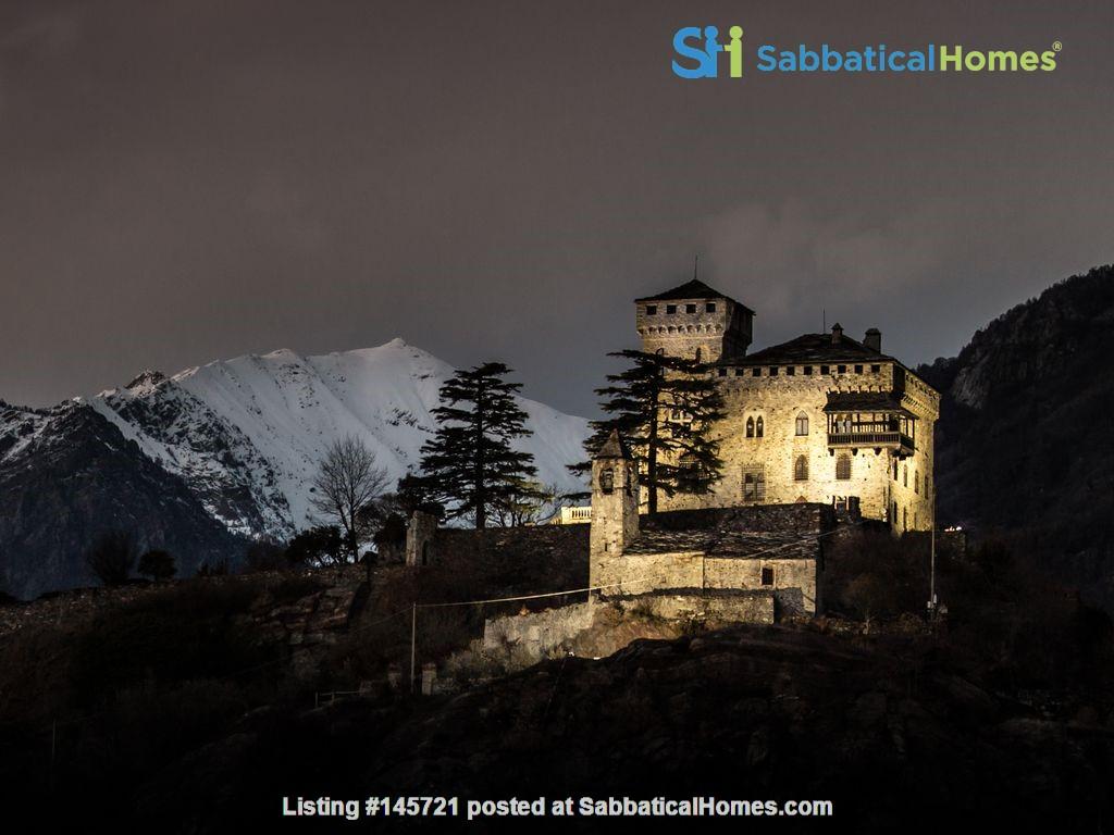 Romantic Italian castle at the foot of the Alps in Piemonte, Italy Home Rental in Città Metropolitana di Torino, Piemonte, Italy 9
