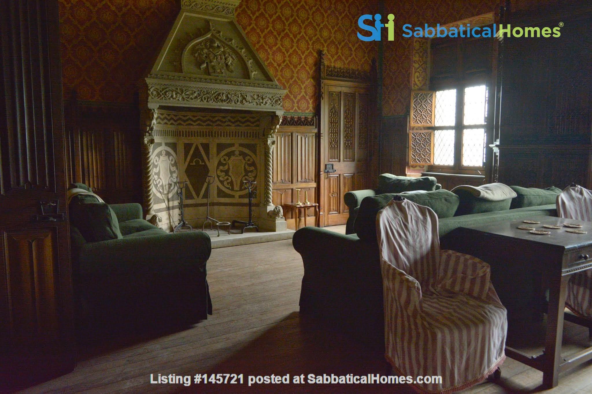 Romantic Italian castle at the foot of the Alps in Piemonte, Italy Home Rental in Città Metropolitana di Torino, Piemonte, Italy 8