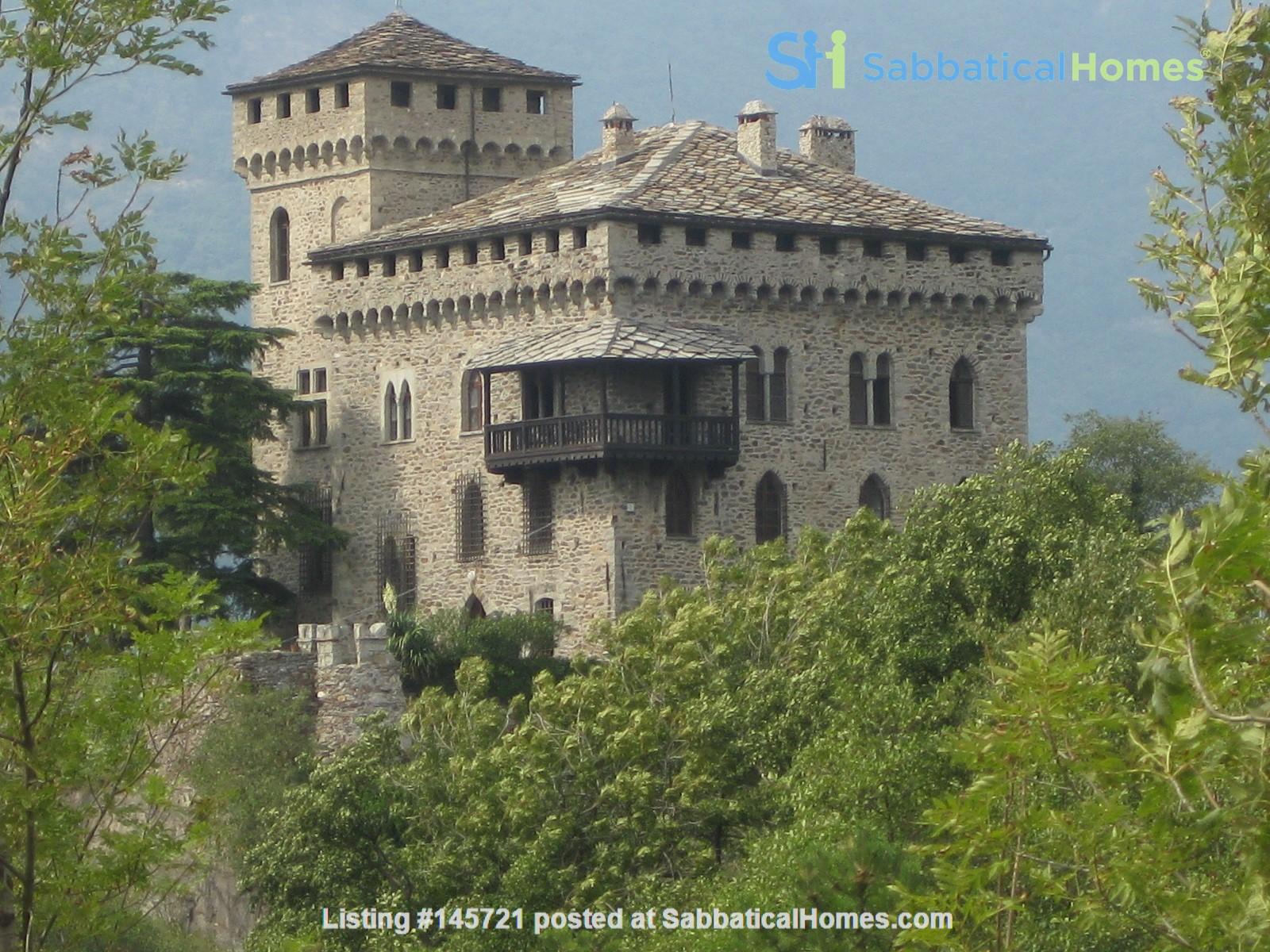 Romantic Italian castle at the foot of the Alps in Piemonte, Italy Home Rental in Città Metropolitana di Torino, Piemonte, Italy 0