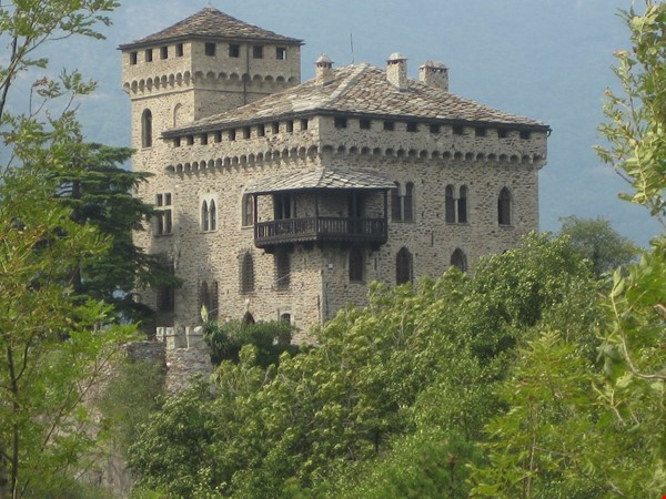 Romantic Italian castle at the foot of the Alps in Piemonte, Italy Home Rental in  0 - thumbnail