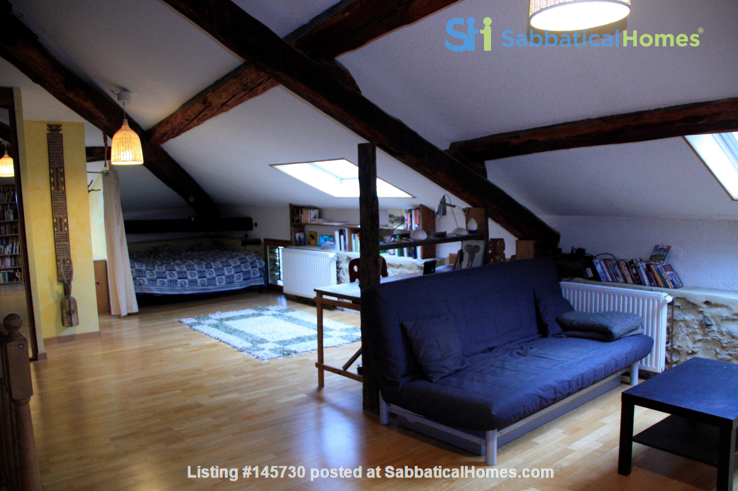 Cosy stone house in the french Alps with huge garden and mountain views Home Exchange in Le Moutaret 1