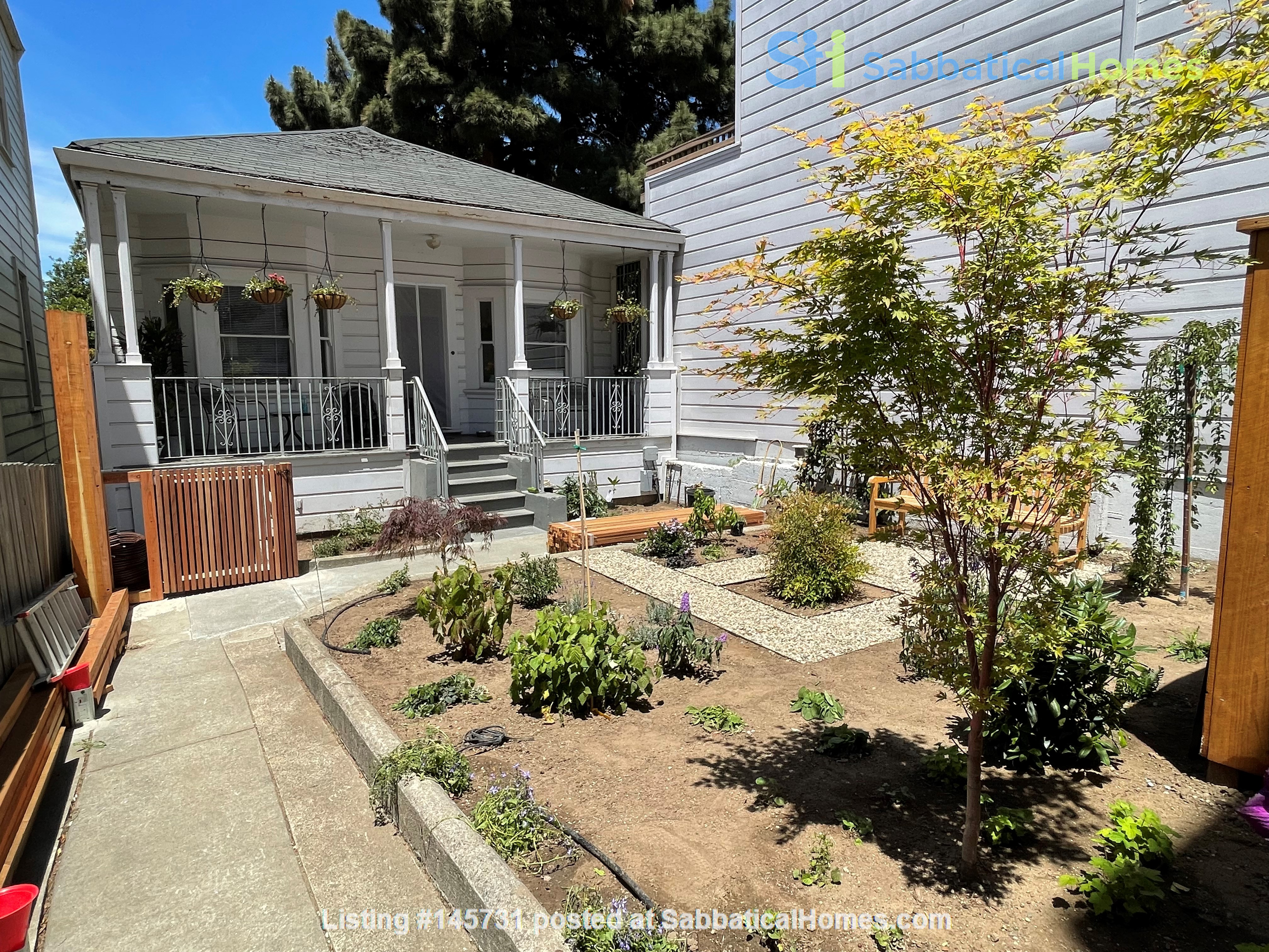 San Francisco 1 Bdr Cottage with a private garden Home Rental in SF 0
