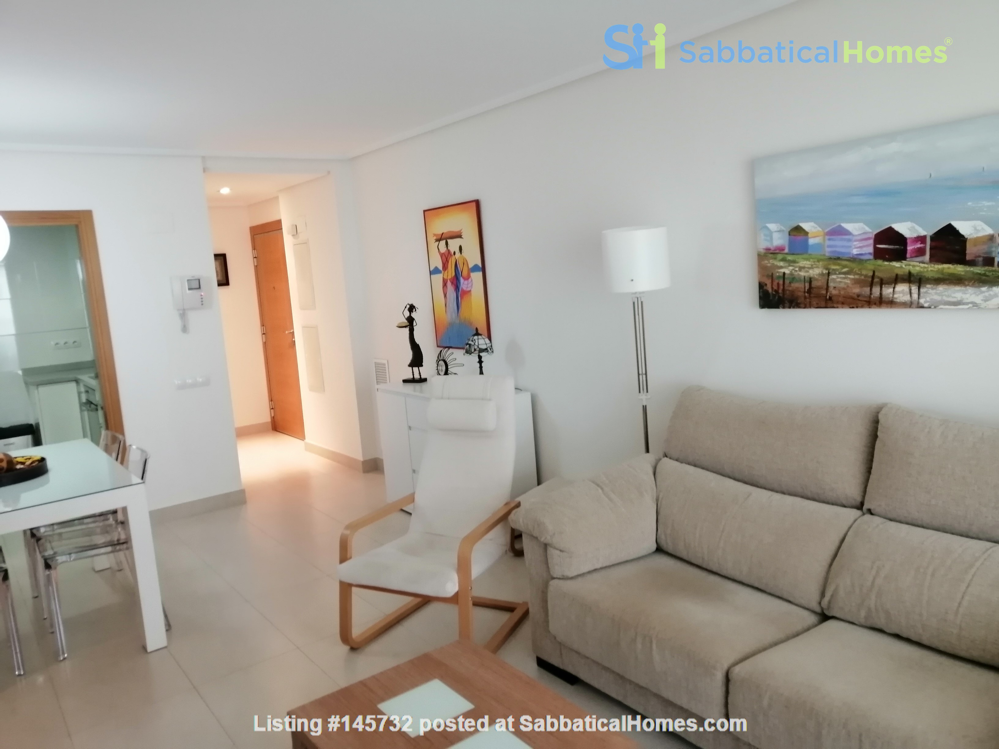 Excellent apartment in Valencia Home Rental in  3