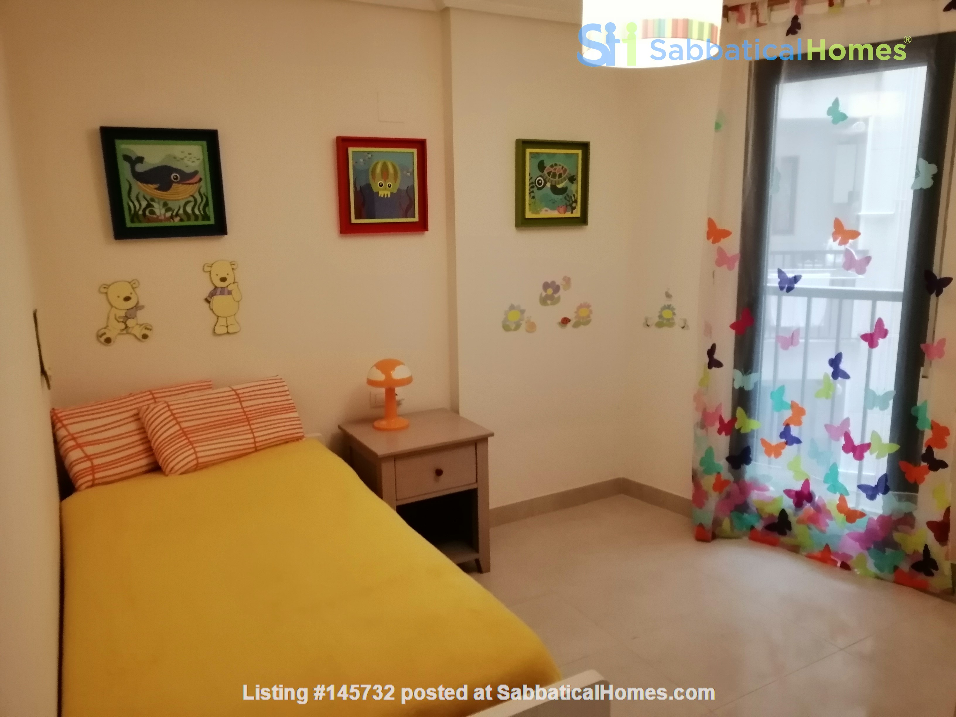 Excellent apartment in Valencia Home Rental in  4