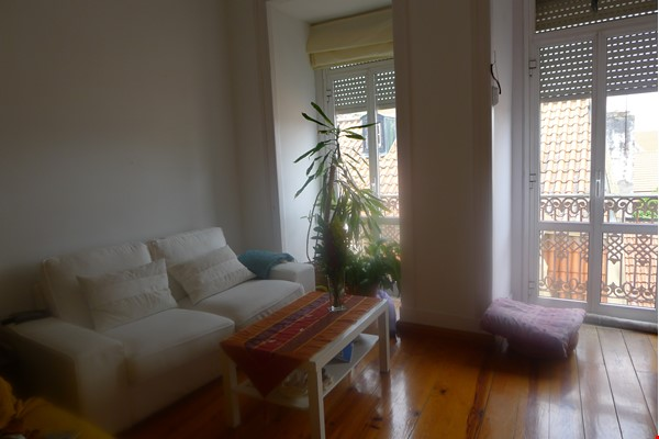 Sunny, central and quiet one-bedroom apartment - perfect for a couple Home Exchange in Lisboa 1 - thumbnail