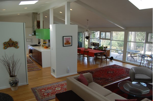 Renovated mid-century modern home (furnished) in desirable Chevy Chase, MD Home Rental in Chevy Chase 0 - thumbnail
