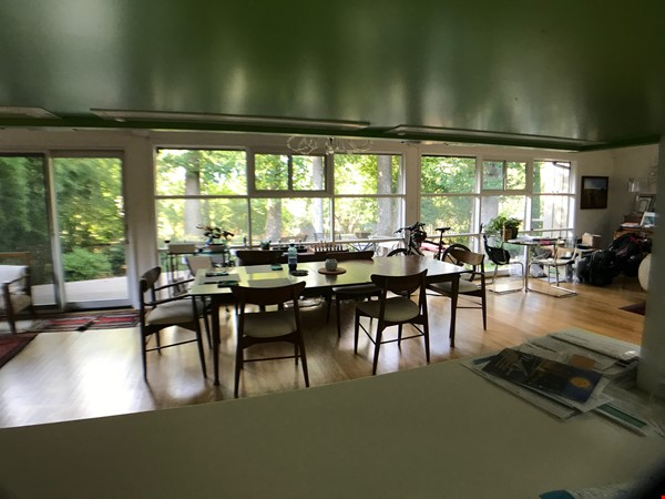 Renovated mid-century modern home (furnished) in desirable Chevy Chase, MD Home Rental in Chevy Chase 2 - thumbnail