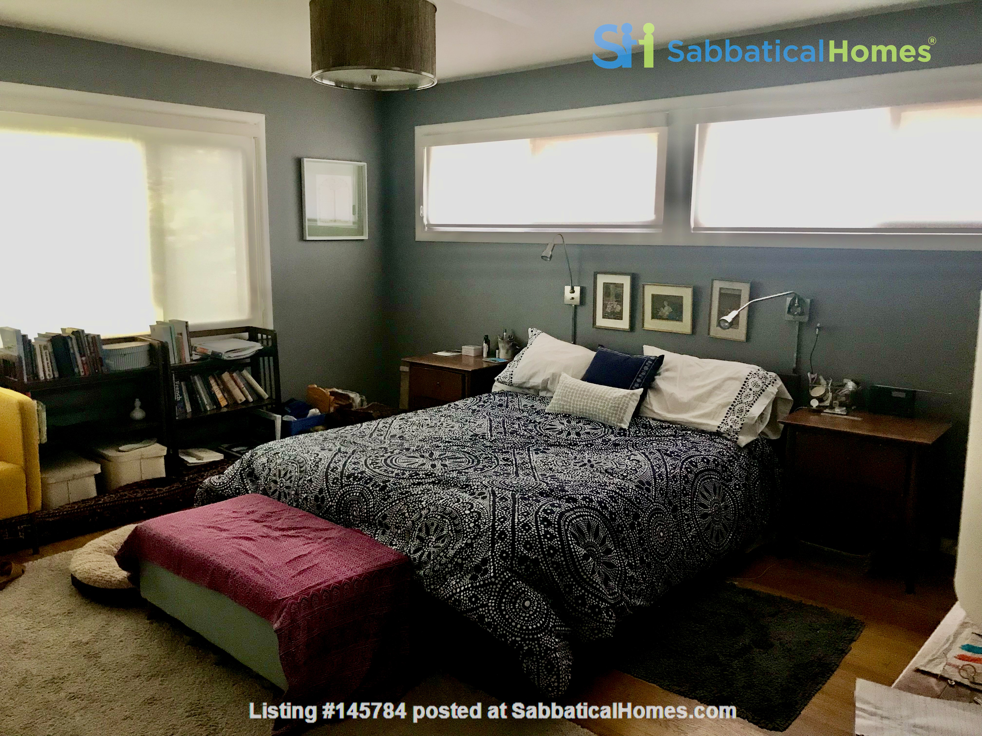 Renovated mid-century modern home (furnished) in desirable Chevy Chase, MD Home Rental in Chevy Chase 4