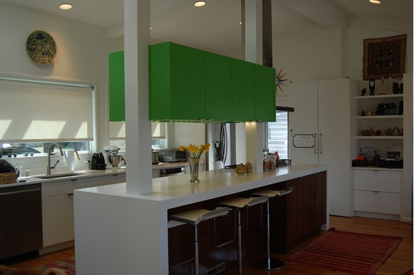 Renovated mid-century modern home (furnished) in desirable Chevy Chase, MD Home Rental in Chevy Chase 3 - thumbnail