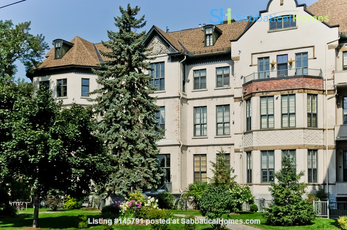 Gorgeous Historic Condo Downtown Ottawa for rent (academic or full year) Home Rental in Ottawa 0