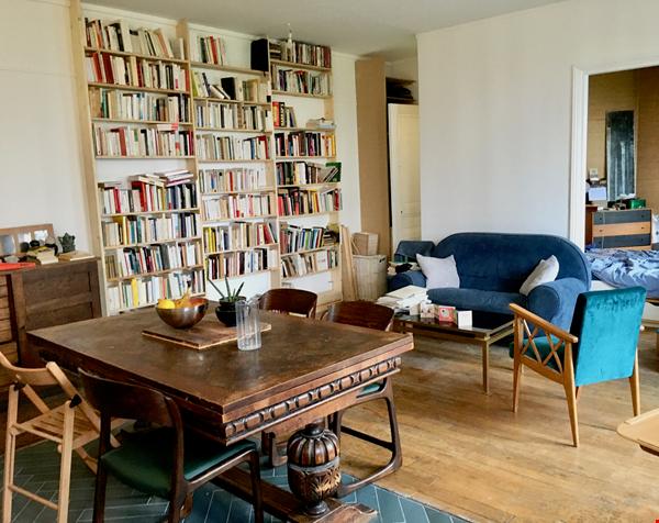 Large, light and airy apartment in Paris, Place des Fêtes Home Rental in Paris 0 - thumbnail