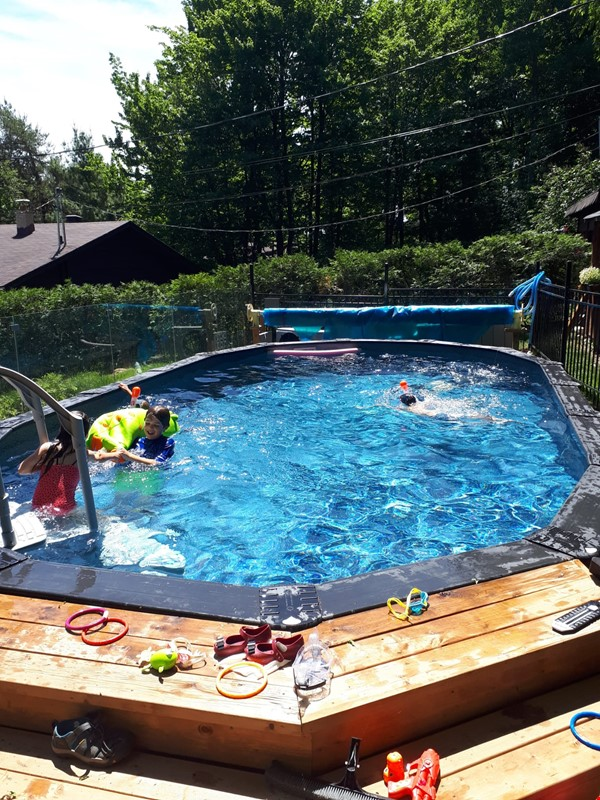 large house family friendly in best Sherbrooke's neigbourhood with a pool Home Exchange in Sherbrooke 1 - thumbnail