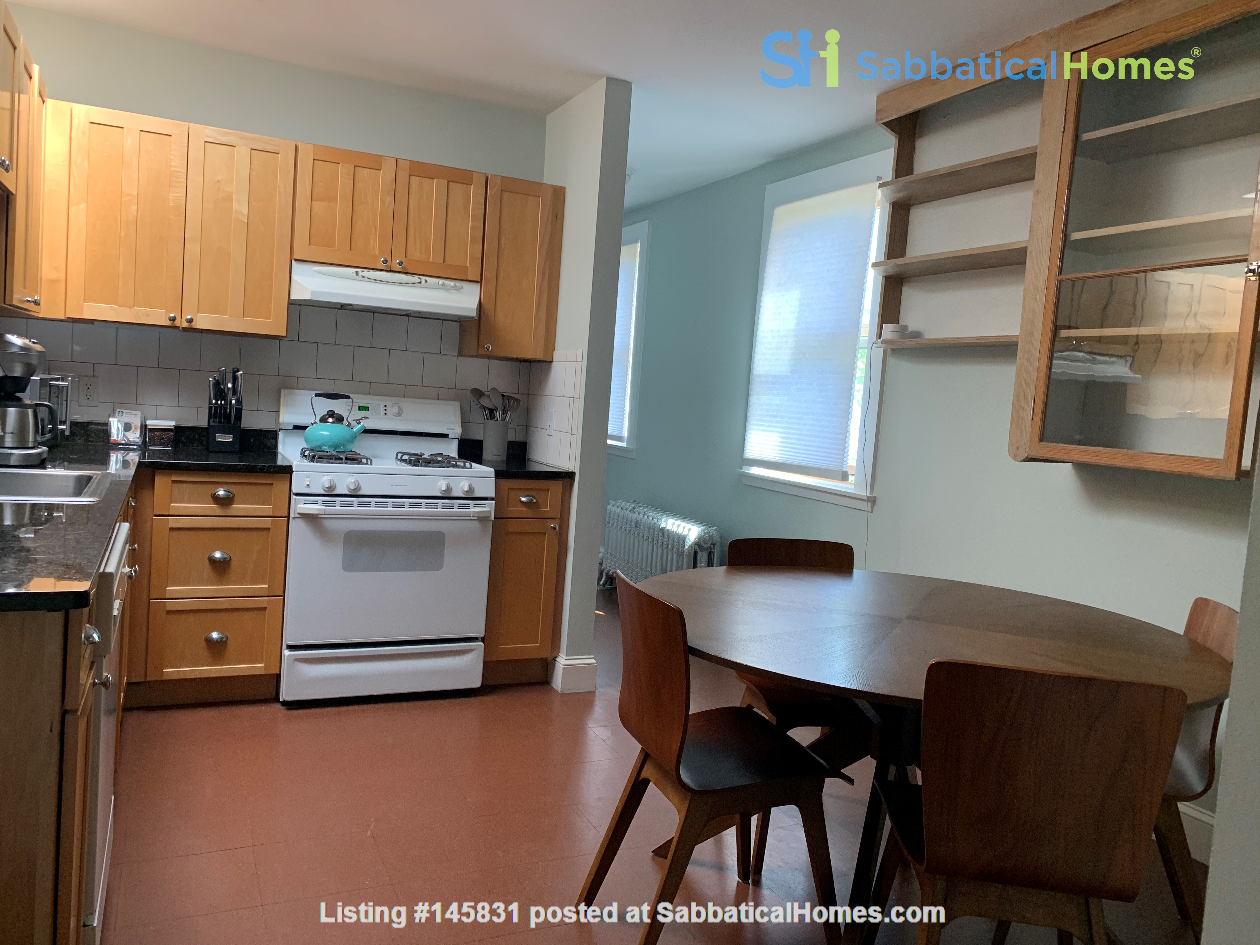 Harvard MIT HKS HBS! Fully furnished all utilities! Pets OK! No fee! Home Rental in Cambridge 4