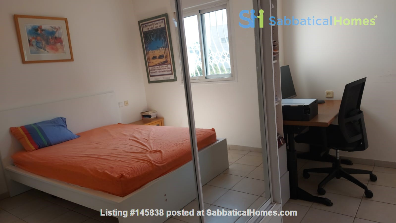 Looking for a two-bedrooms apartment in Paris Home Exchange in Ness Ziona 2