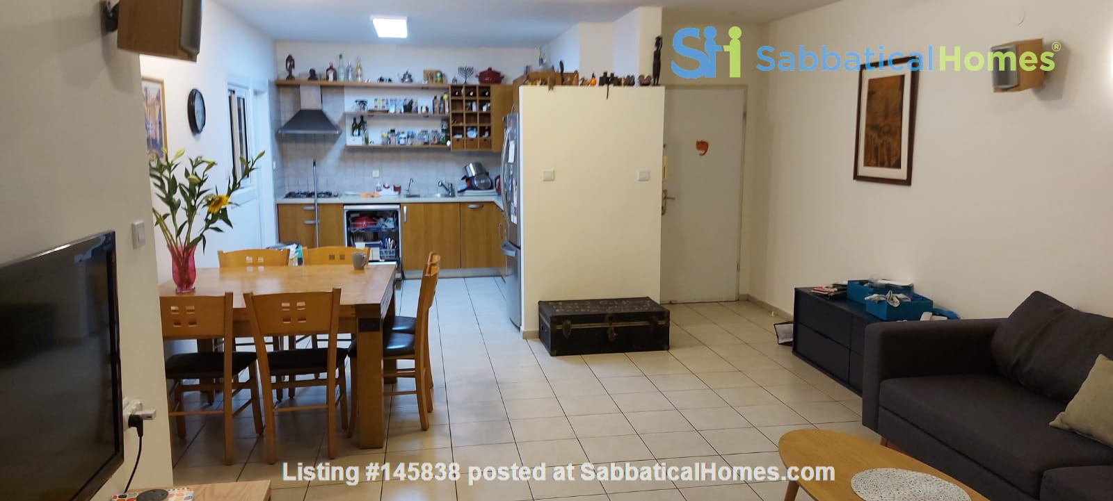 Looking for a two-bedrooms apartment in Paris Home Exchange in Ness Ziona 3
