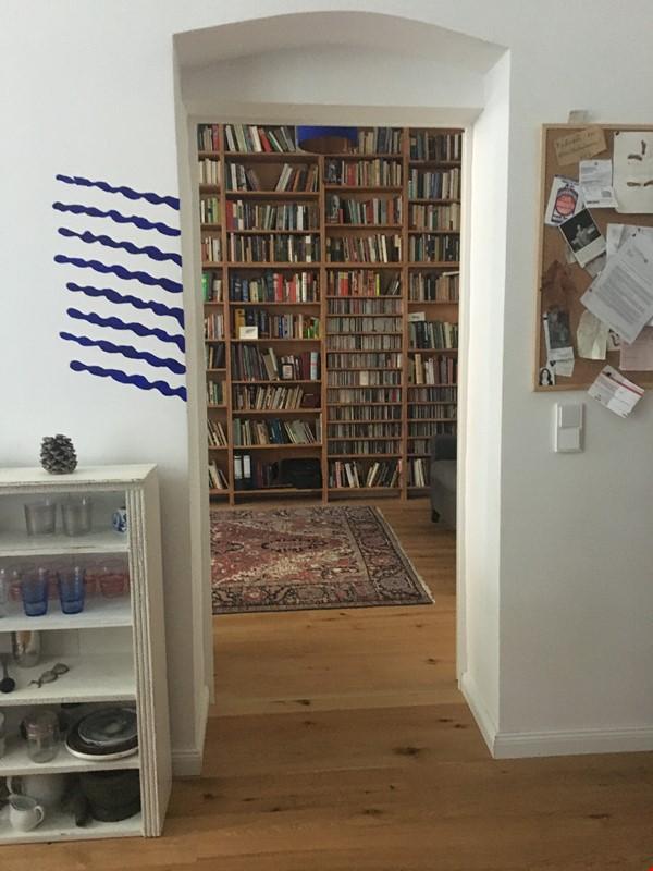 Freshly renovated, quiet, ground-floor apt w/terrace & beautiful details Home Rental in Berlin 1 - thumbnail