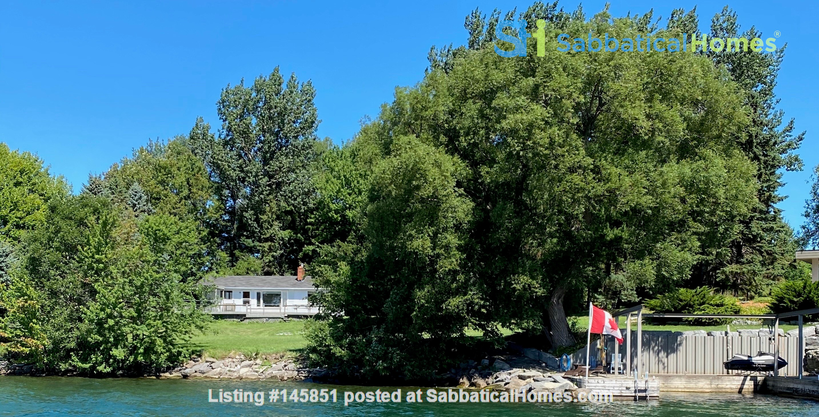 Natural Island Sanctuary close to Queen's/RMC Home Rental in  11