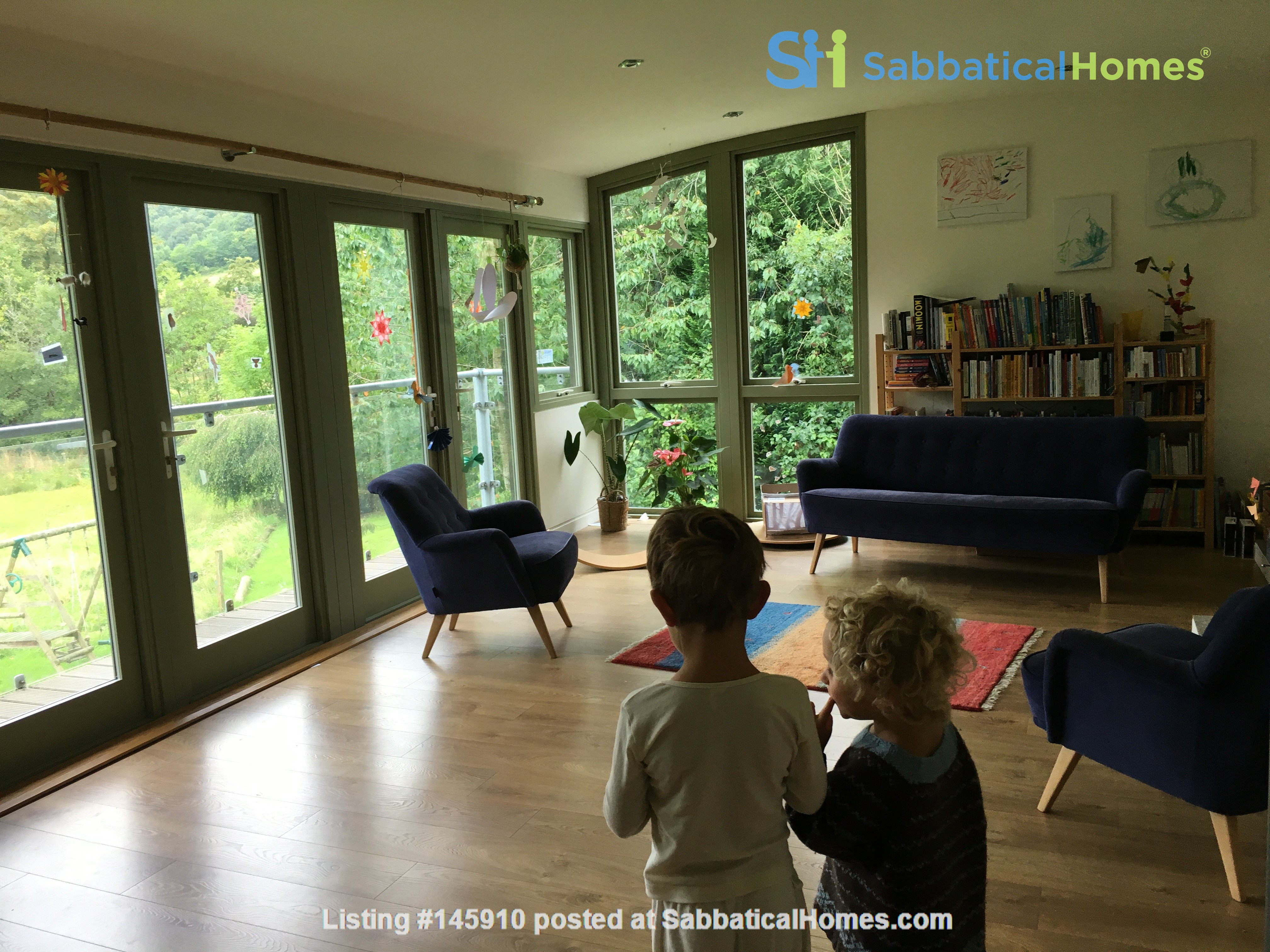 Bright and spacious house in Scottish Highlands with a large garden Home Rental in  2