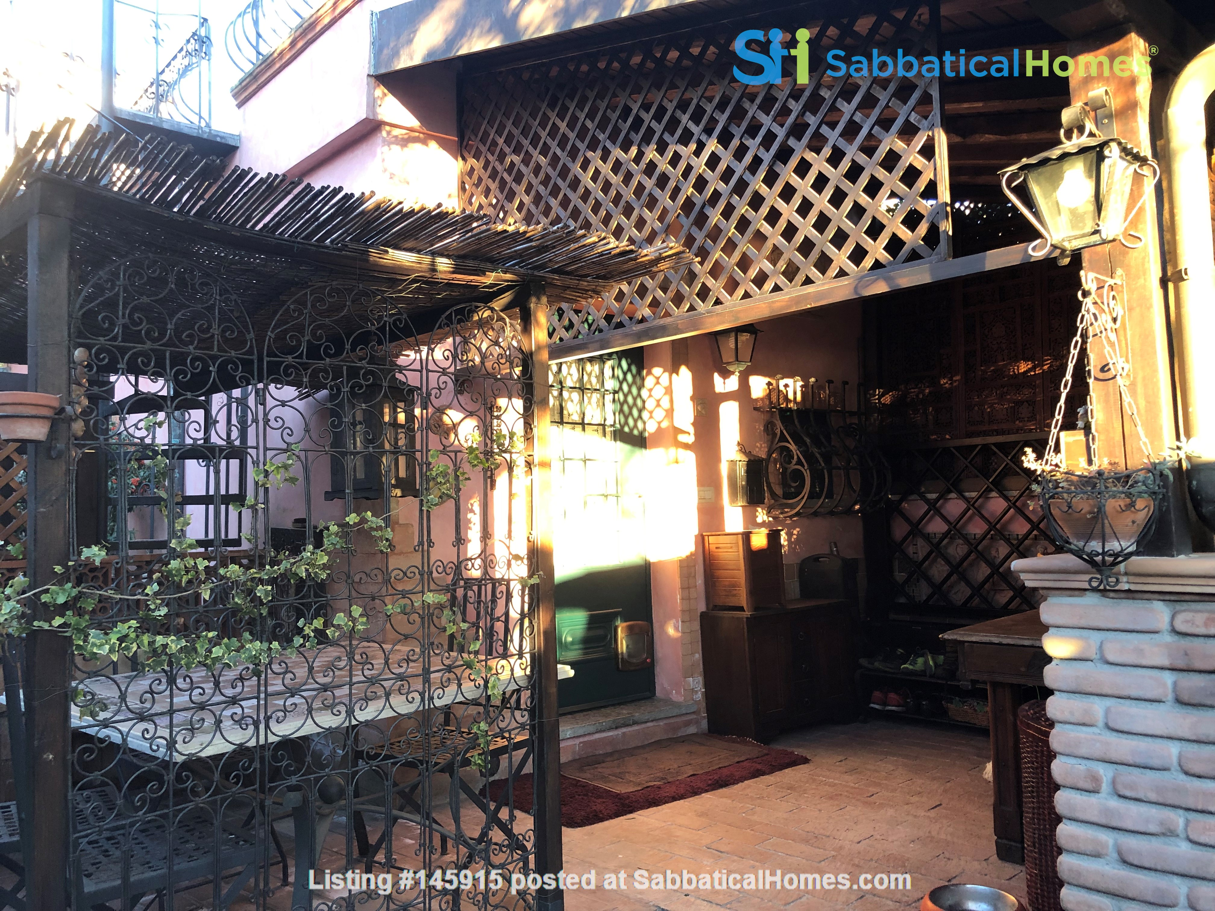 A cottage in Rome between the city and the countryside Home Rental in Roma 2
