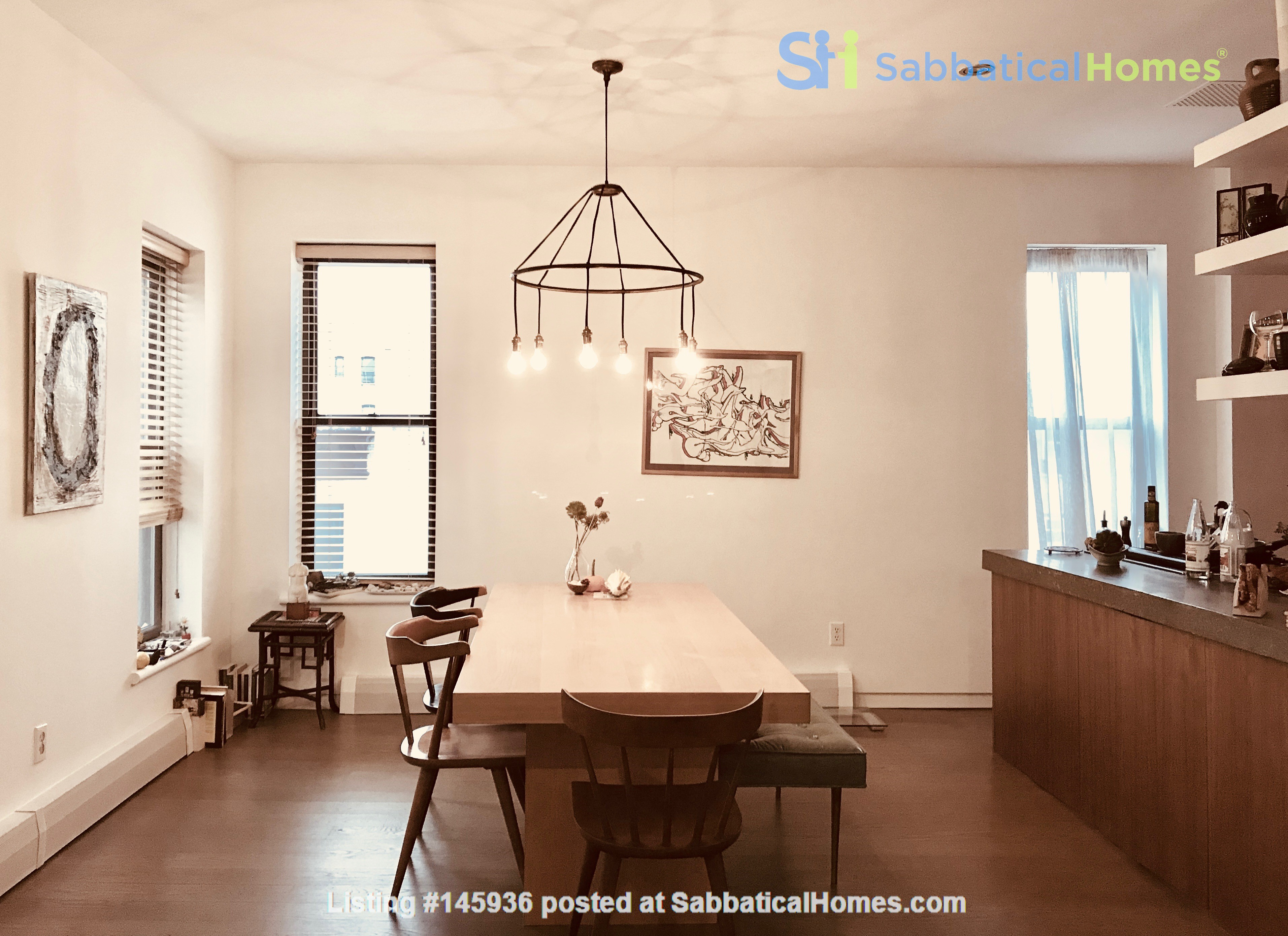 Sunny, Large, Renovated, Quiet, Ample 2BR+Studio/Office in Crown Heights Home Rental in  6