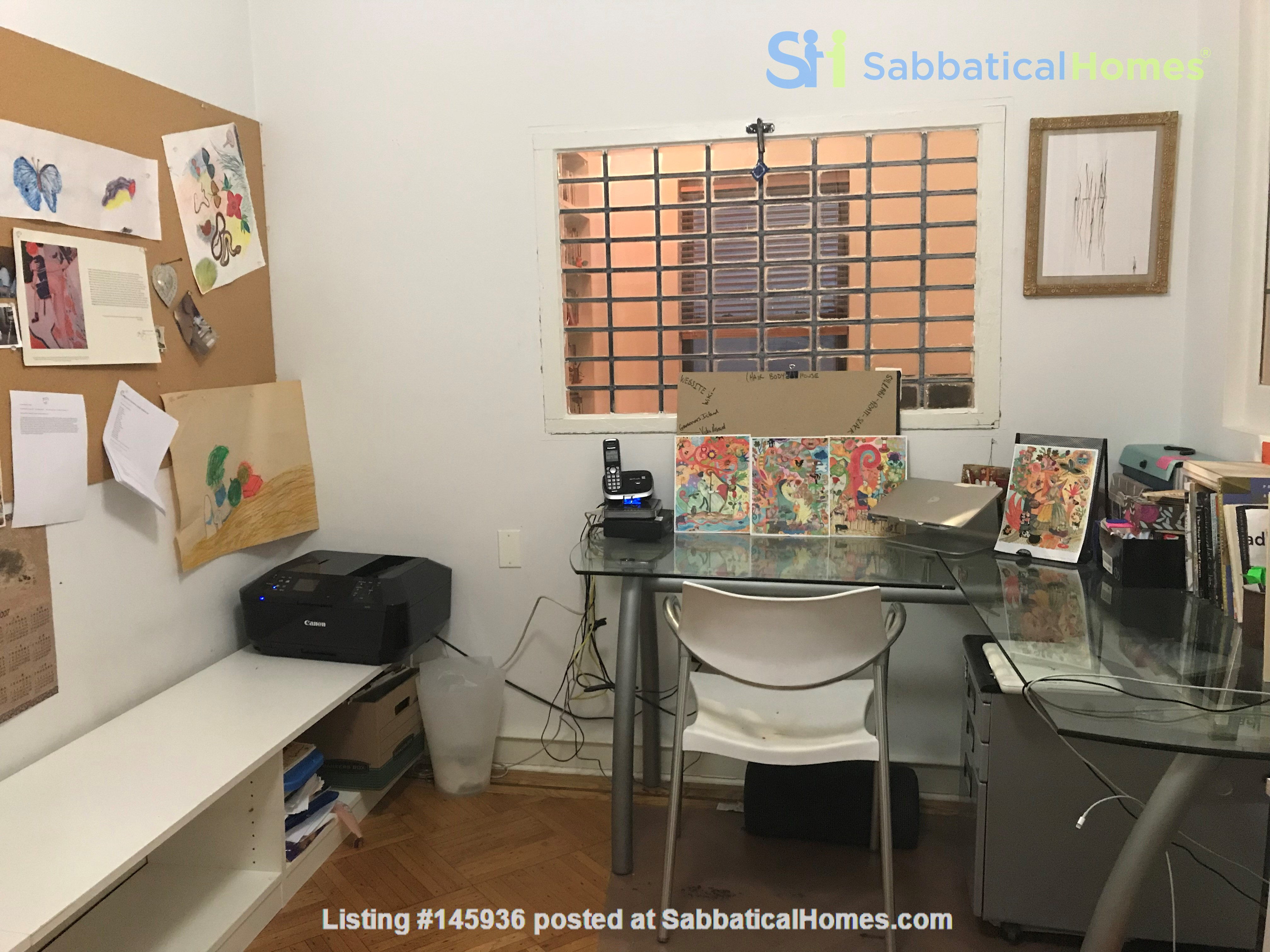 Sunny, Large, Renovated, Quiet, Ample 2BR+Studio/Office in Crown Heights Home Rental in  9