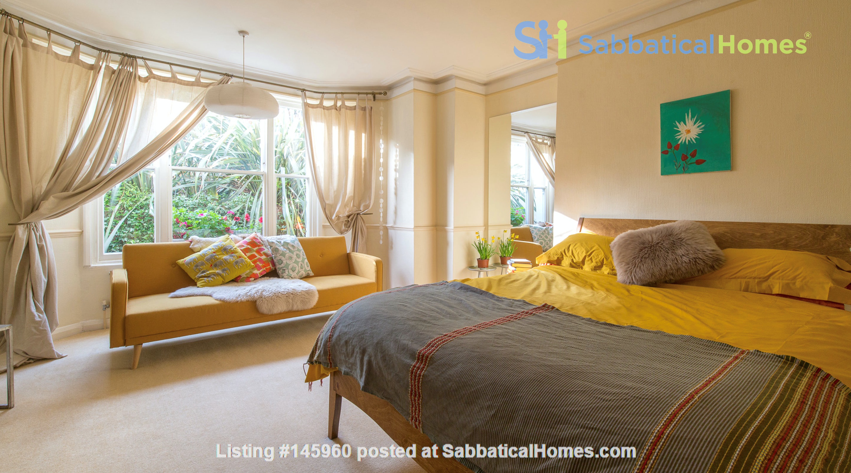 Stunning architectural Victorian family home with 3 bedrooms & large garden Home Rental in  3
