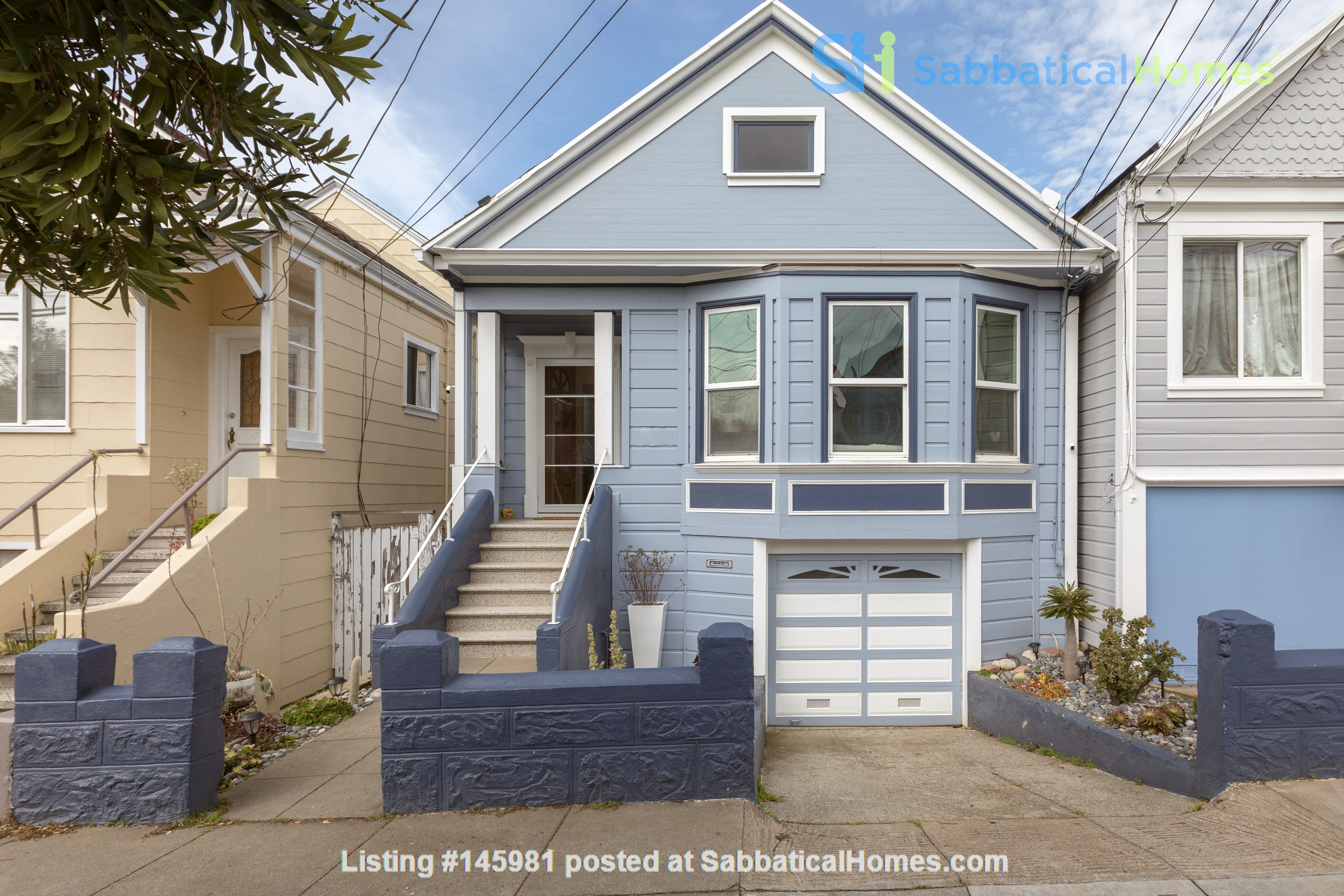 Charming Family Home in San Francisco Home Rental in SF 0
