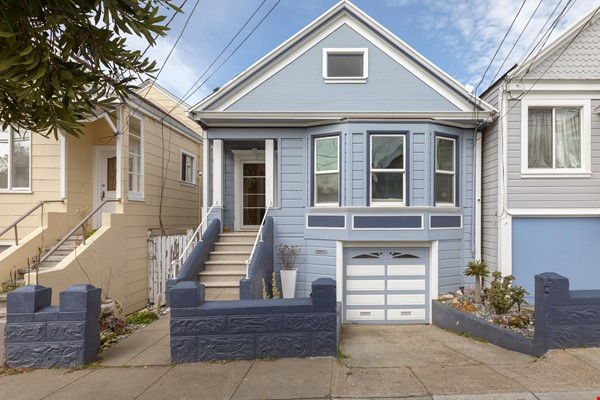 Charming Family Home in San Francisco Home Rental in SF 0 - thumbnail