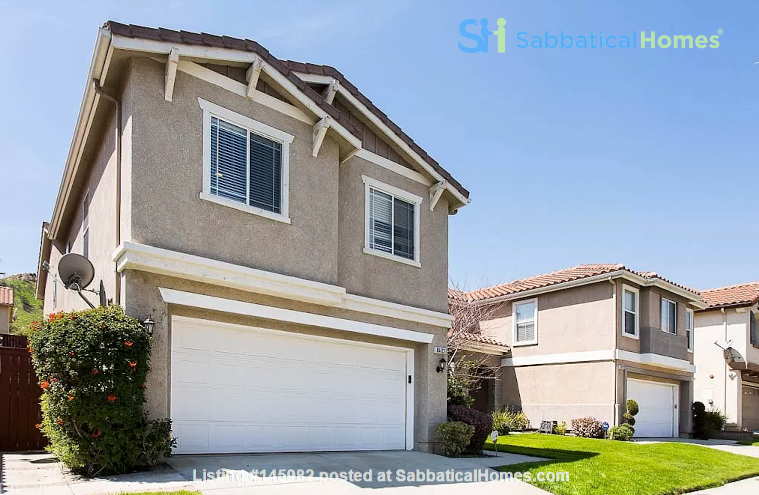 Spacious, Quiet 4 Bedroom Home with Pool & Mountain Views. Pets OK. Home Rental in Los Angeles 2