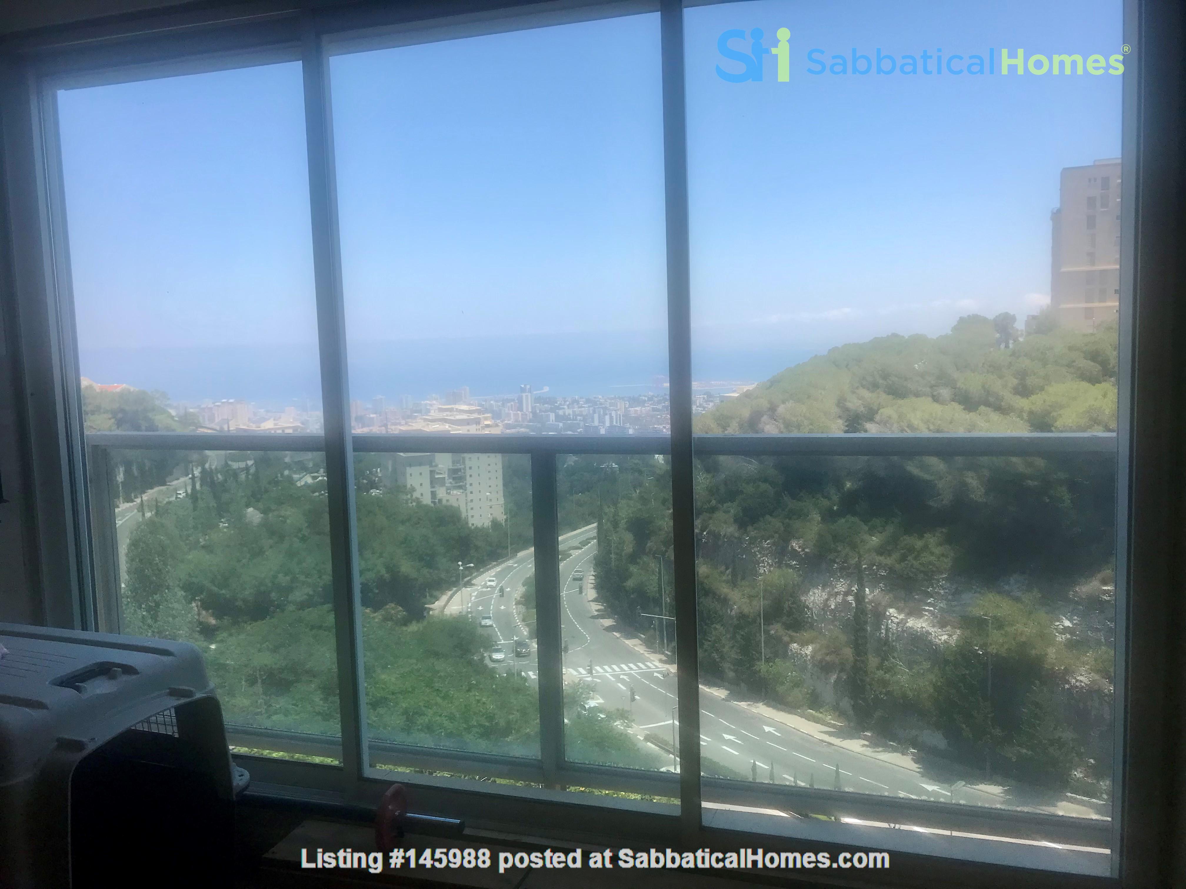 Mountain-top apartment near Technion & UoHaifa Home Rental in Haifa 0
