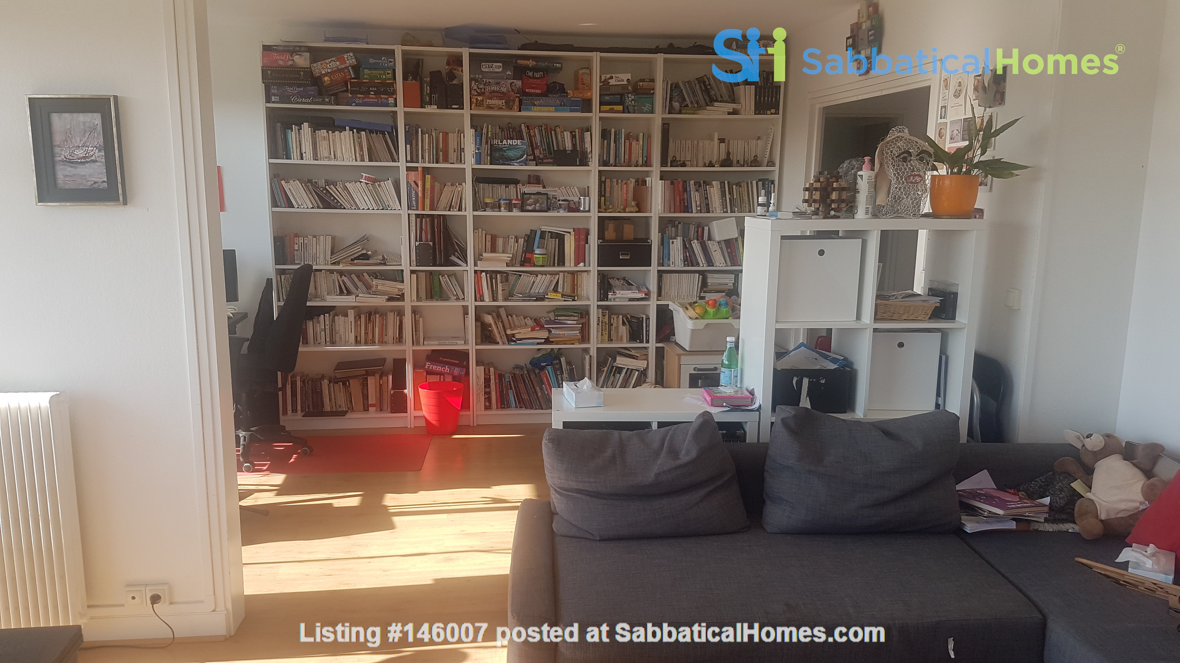 2 BR apartement with a stunning view over Paris Home Exchange in Paris 0