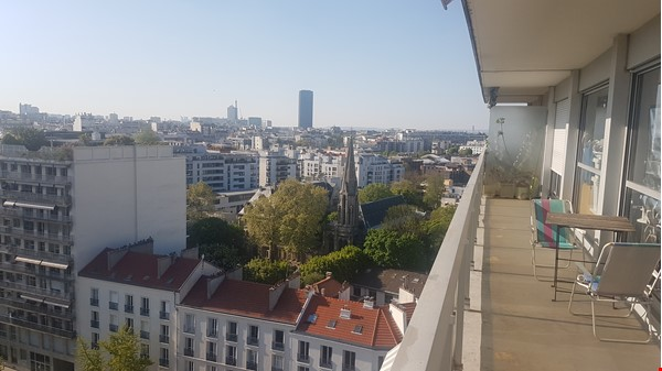 2 BR apartement with a stunning view over Paris Home Exchange in Paris 2 - thumbnail