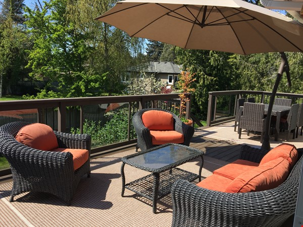 Sunny character home with large deck and yard, near to UVic and beaches Home Rental in Victoria 0 - thumbnail