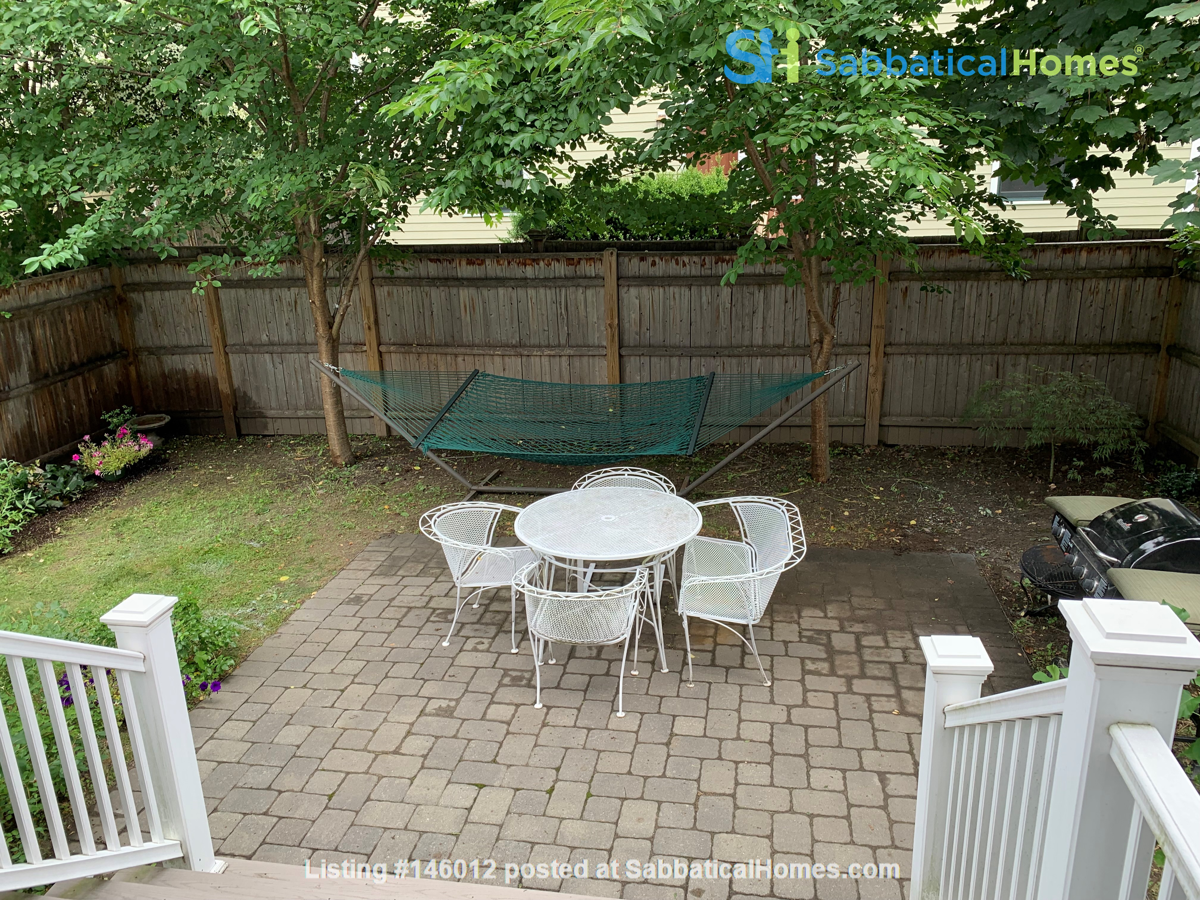 Lovely furnished 2-bedroom with private yard between Harvard and MIT Home Rental in Cambridge 0