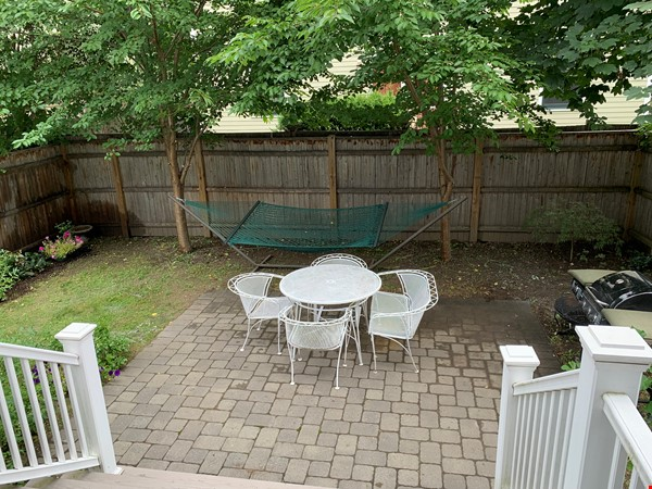 Lovely furnished 2-bedroom with private yard between Harvard and MIT Home Rental in Cambridge 0 - thumbnail